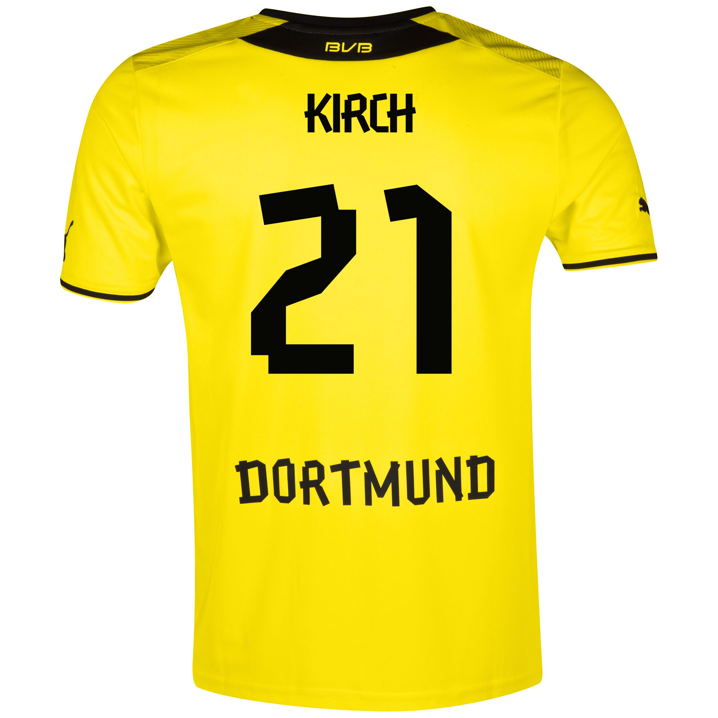 BVB Home Shirt 2013/14 with Kirch 21 printing