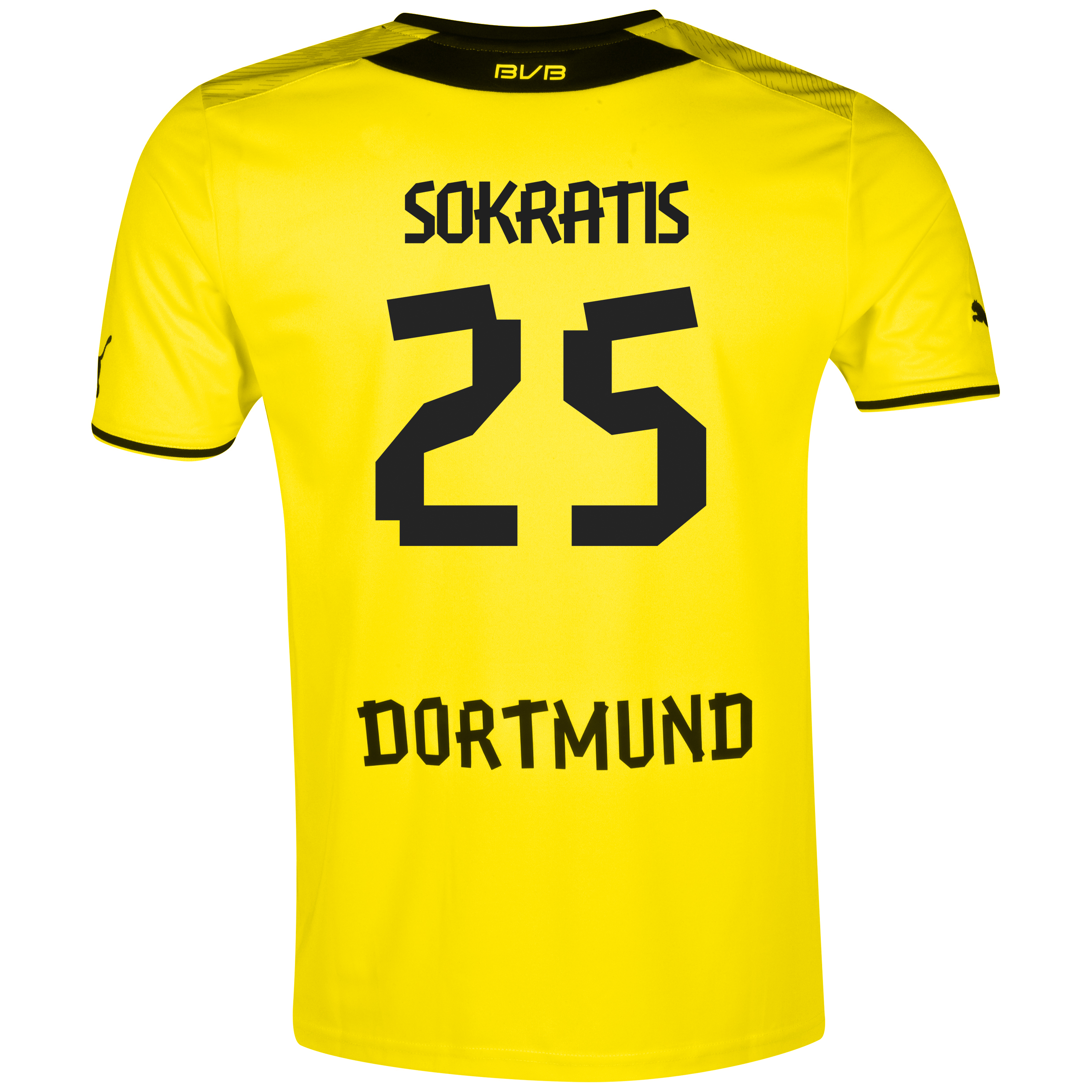 BVB Home Shirt 2013/14 with Sokratis 25 printing