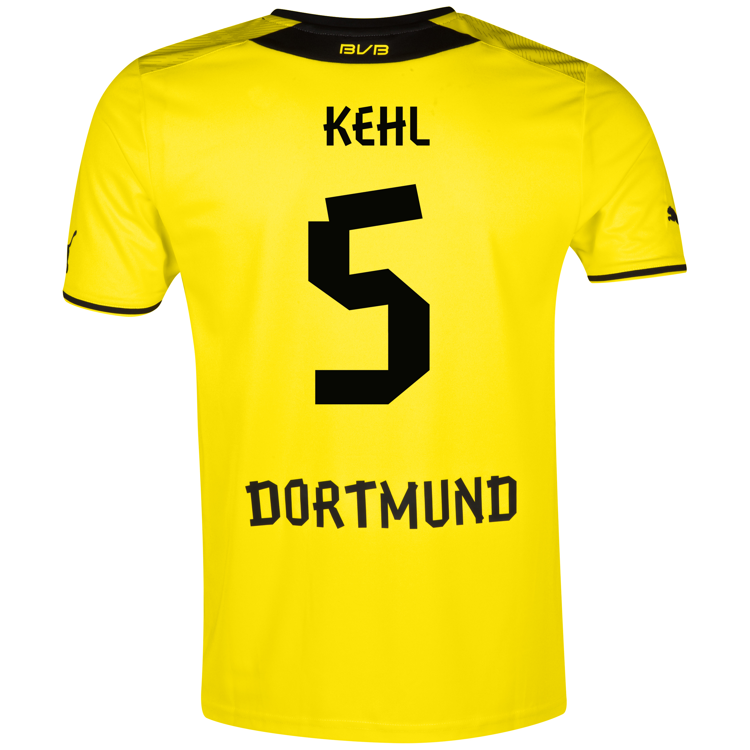 BVB Home Shirt 2013/14 – Kids with Kehl 5 printing