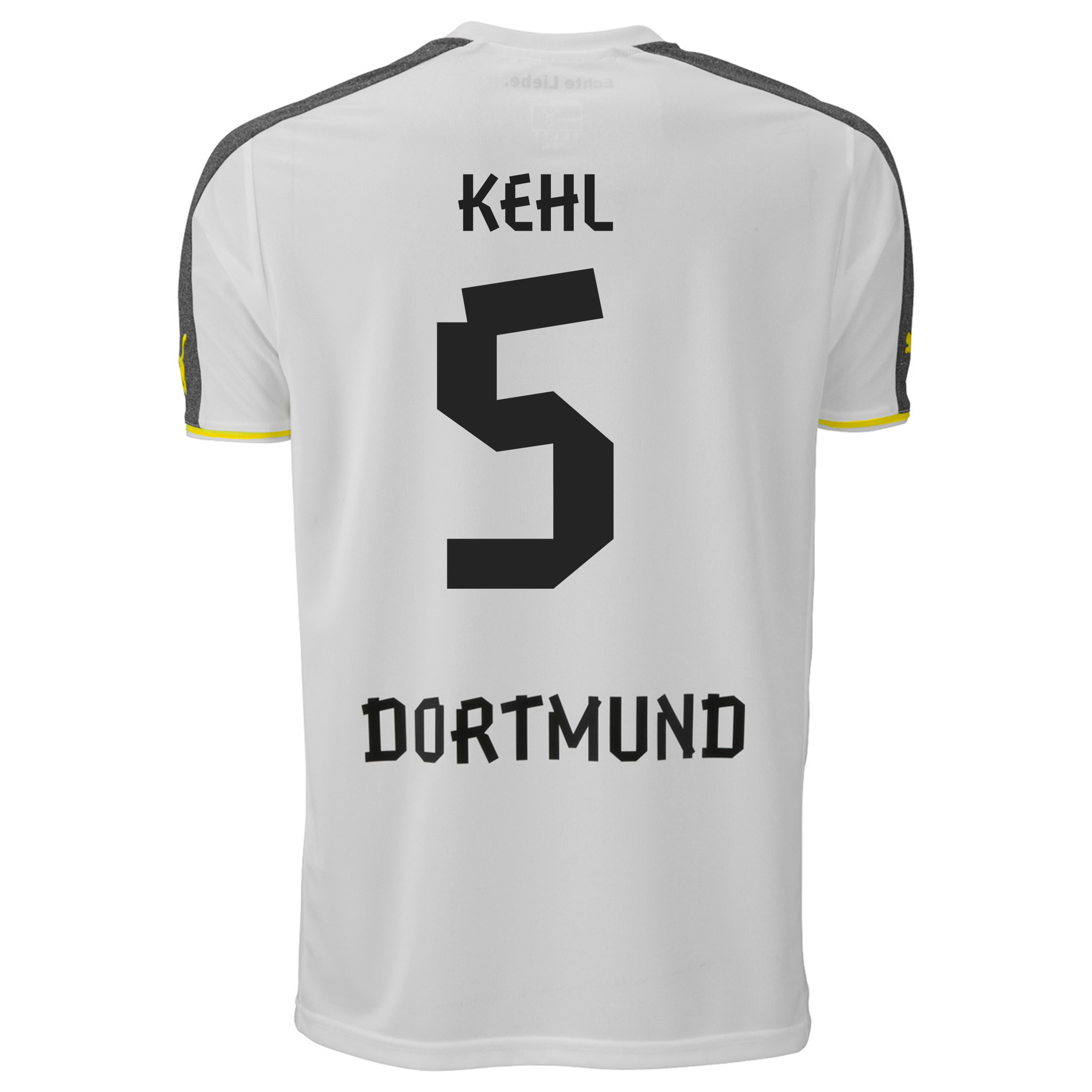 BVB Third Shirt 2013/14 with Kehl 5 printing