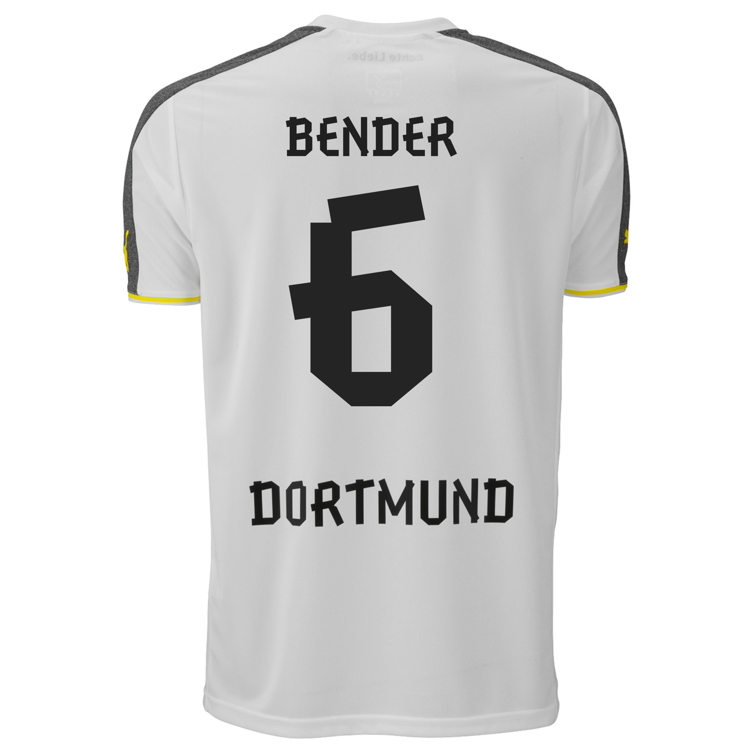 BVB Third Shirt 2013/14 with Bender 6 printing