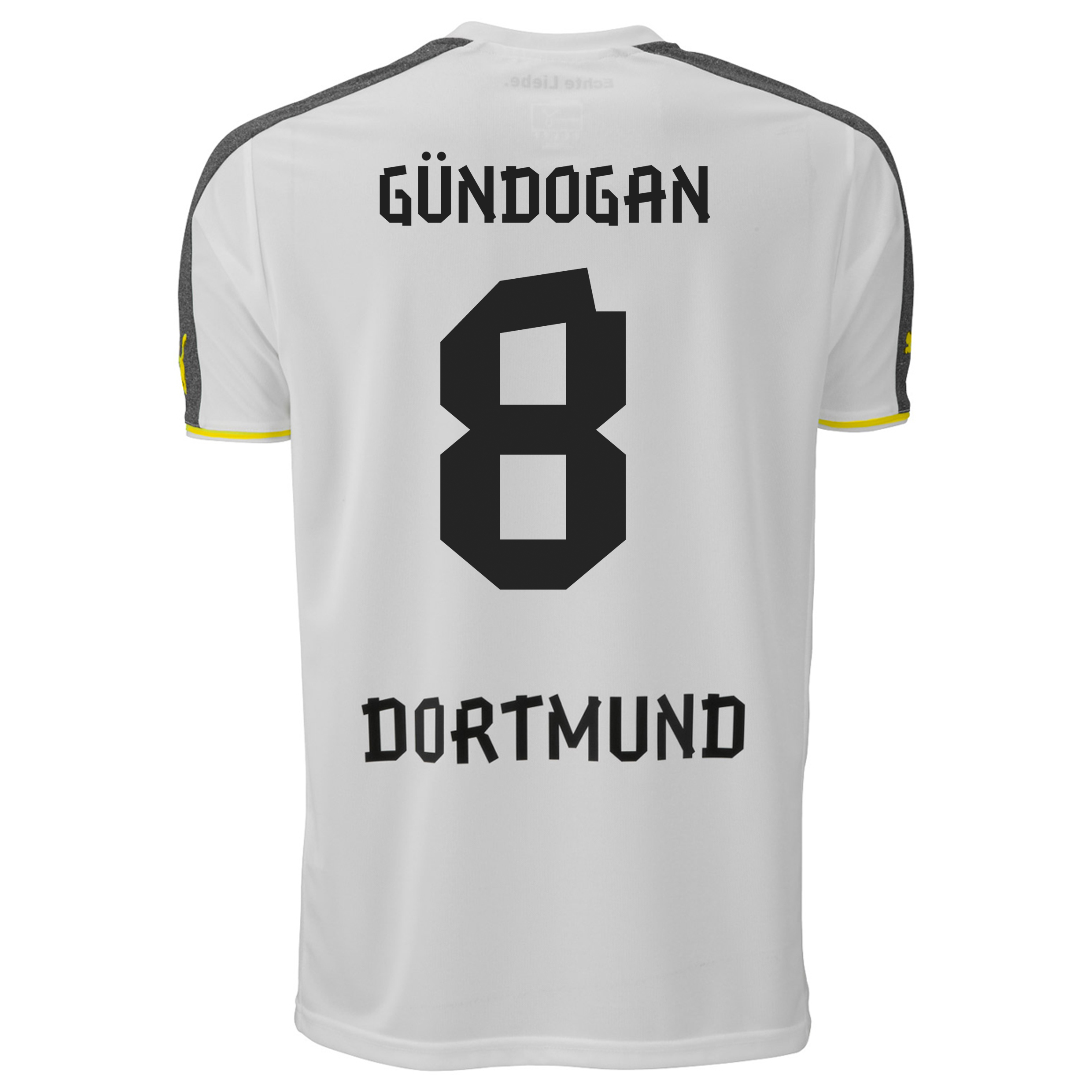 BVB Third Shirt 2013/14 with Gündogan 8 printing