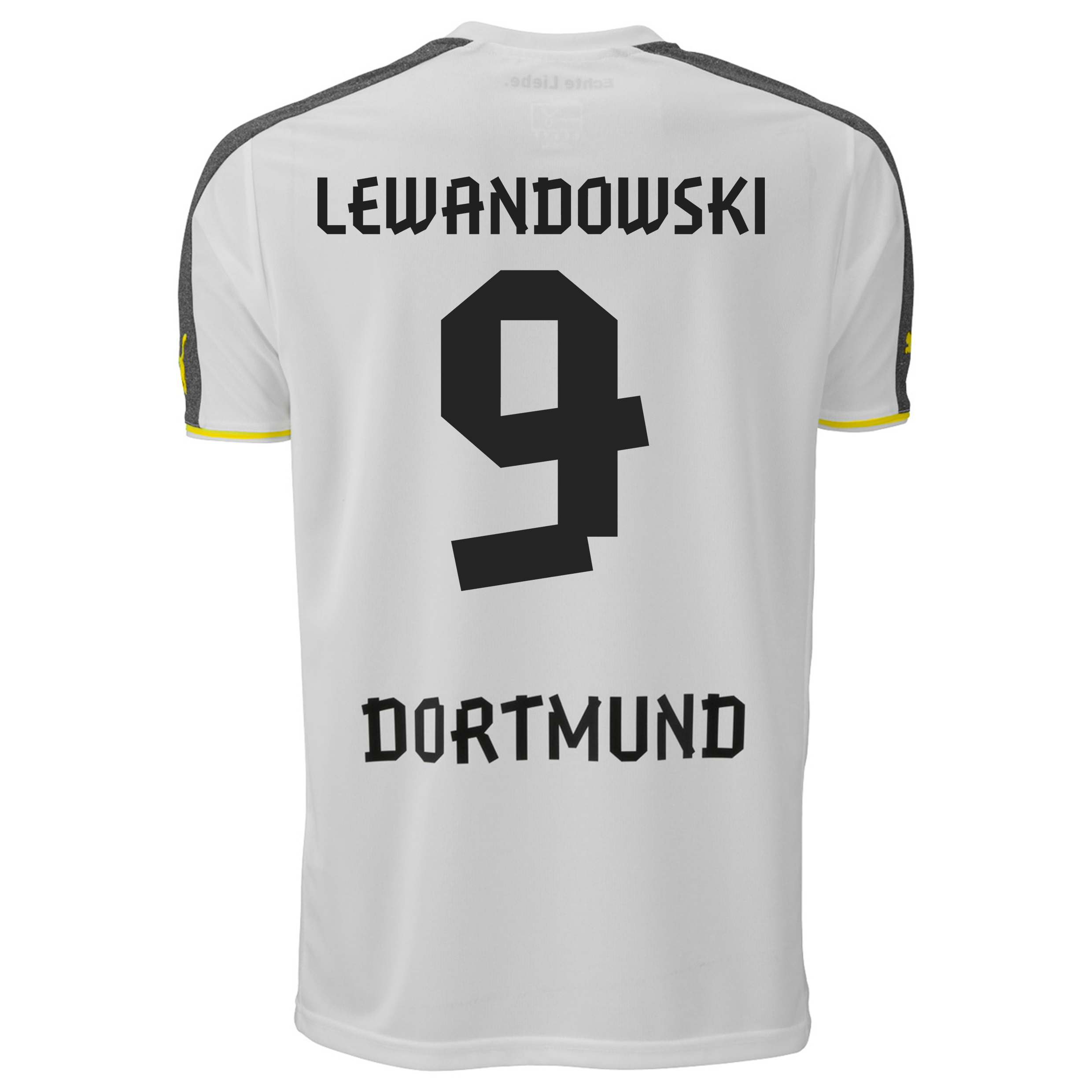 BVB Third Shirt 2013/14 with Lewandowski 9 printing