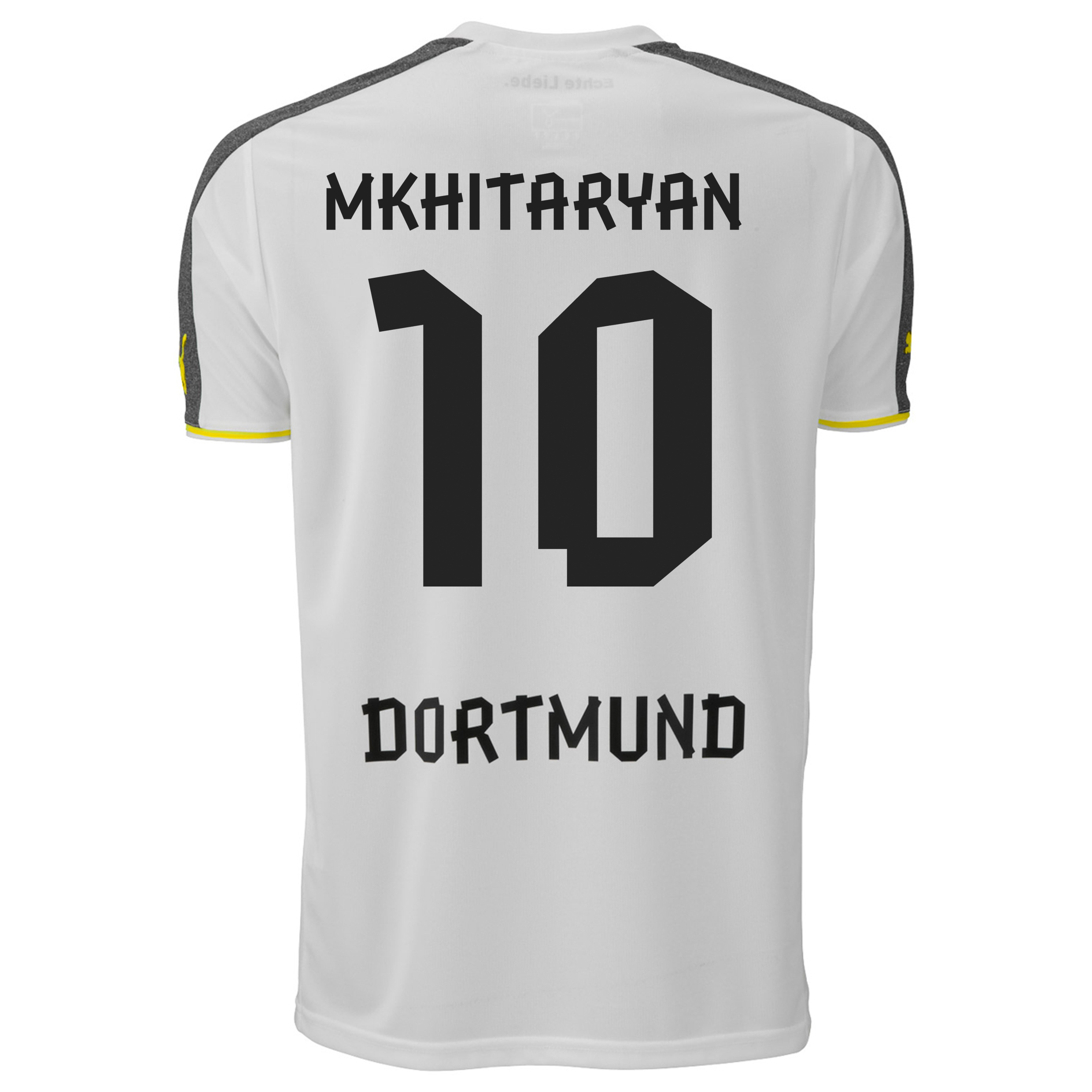 BVB Third Shirt 2013/14 with Mkhitaryan 10 printing