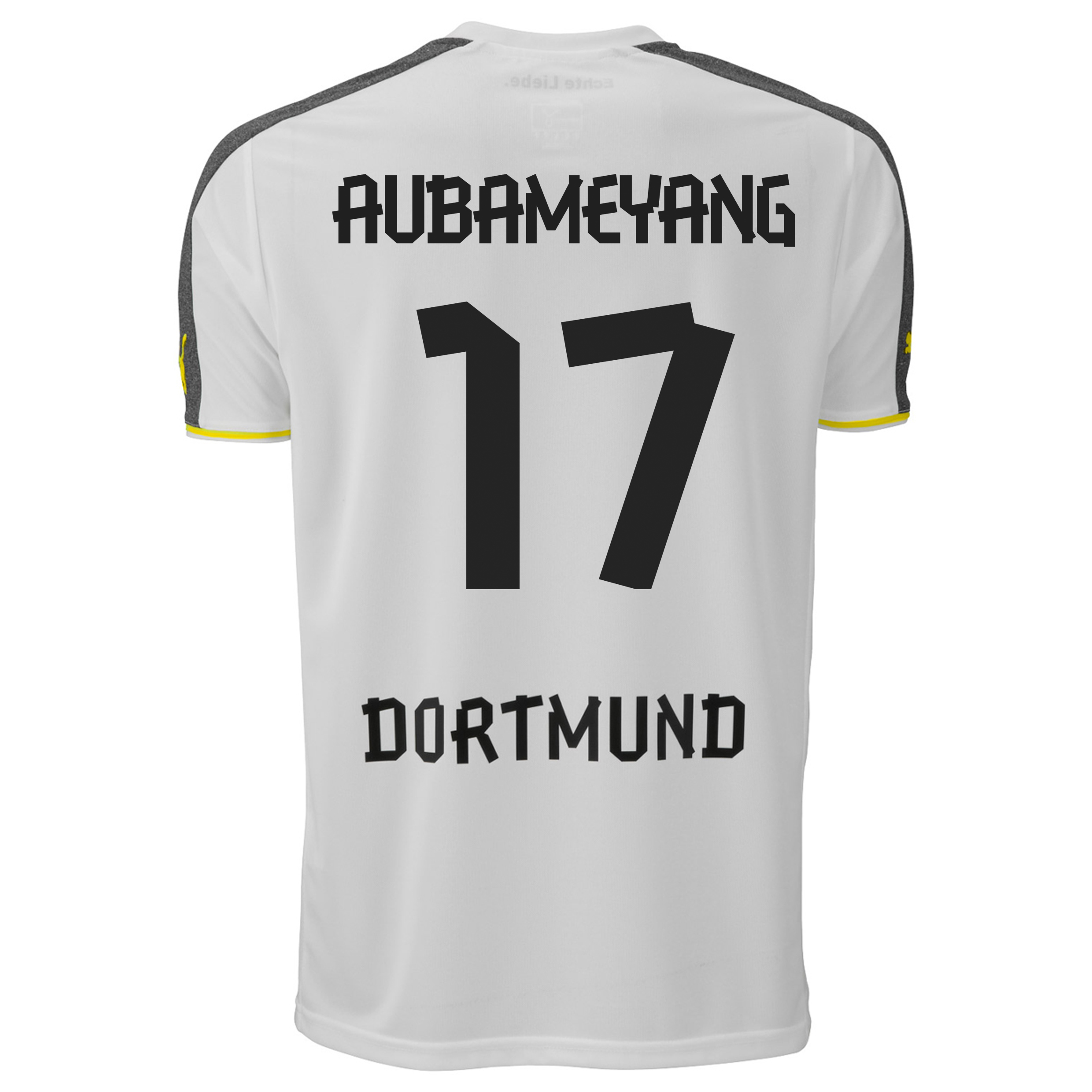 BVB Third Shirt 2013/14 with Aubameyang 17 printing