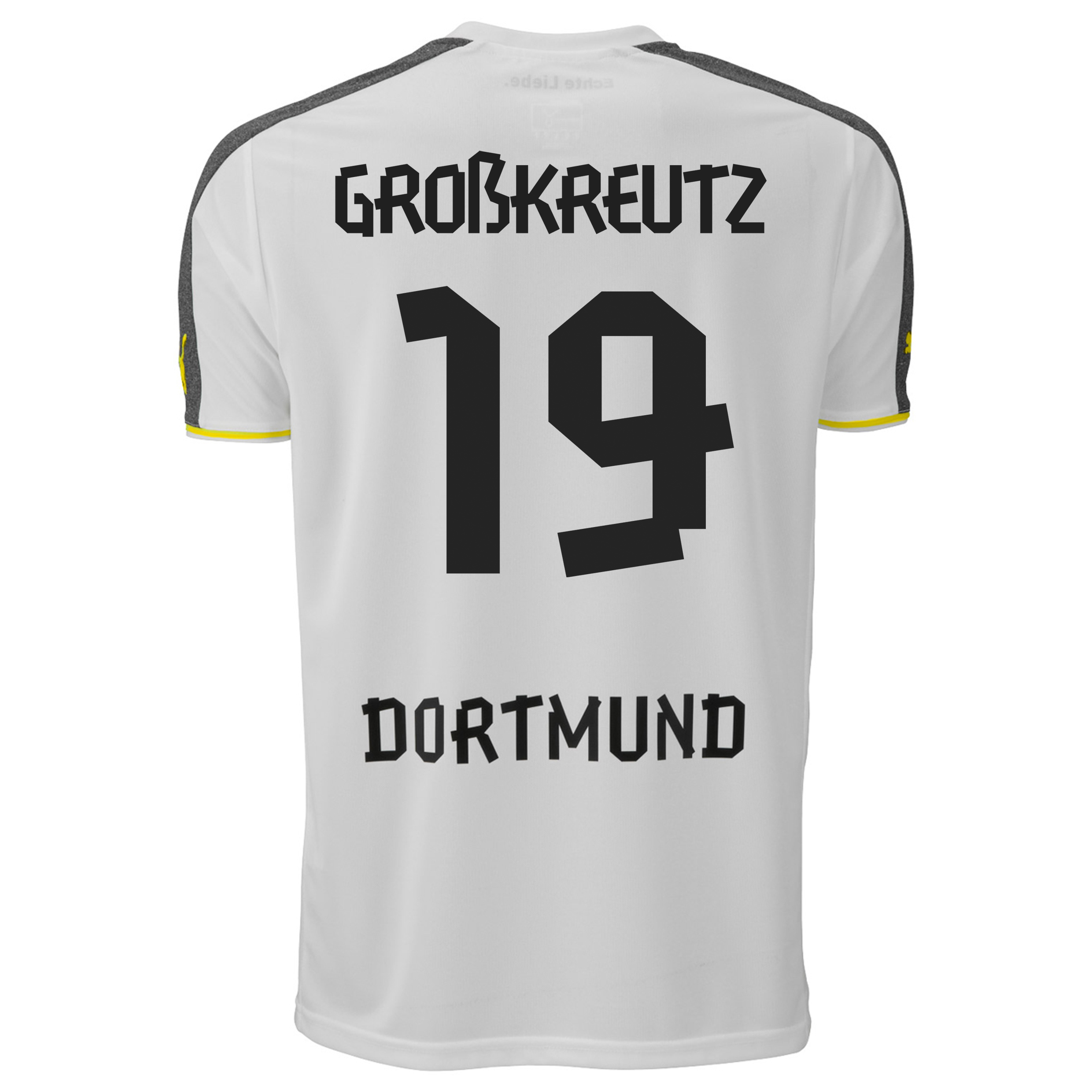 BVB Third Shirt 2013/14 with Grosskreutz 19 printing