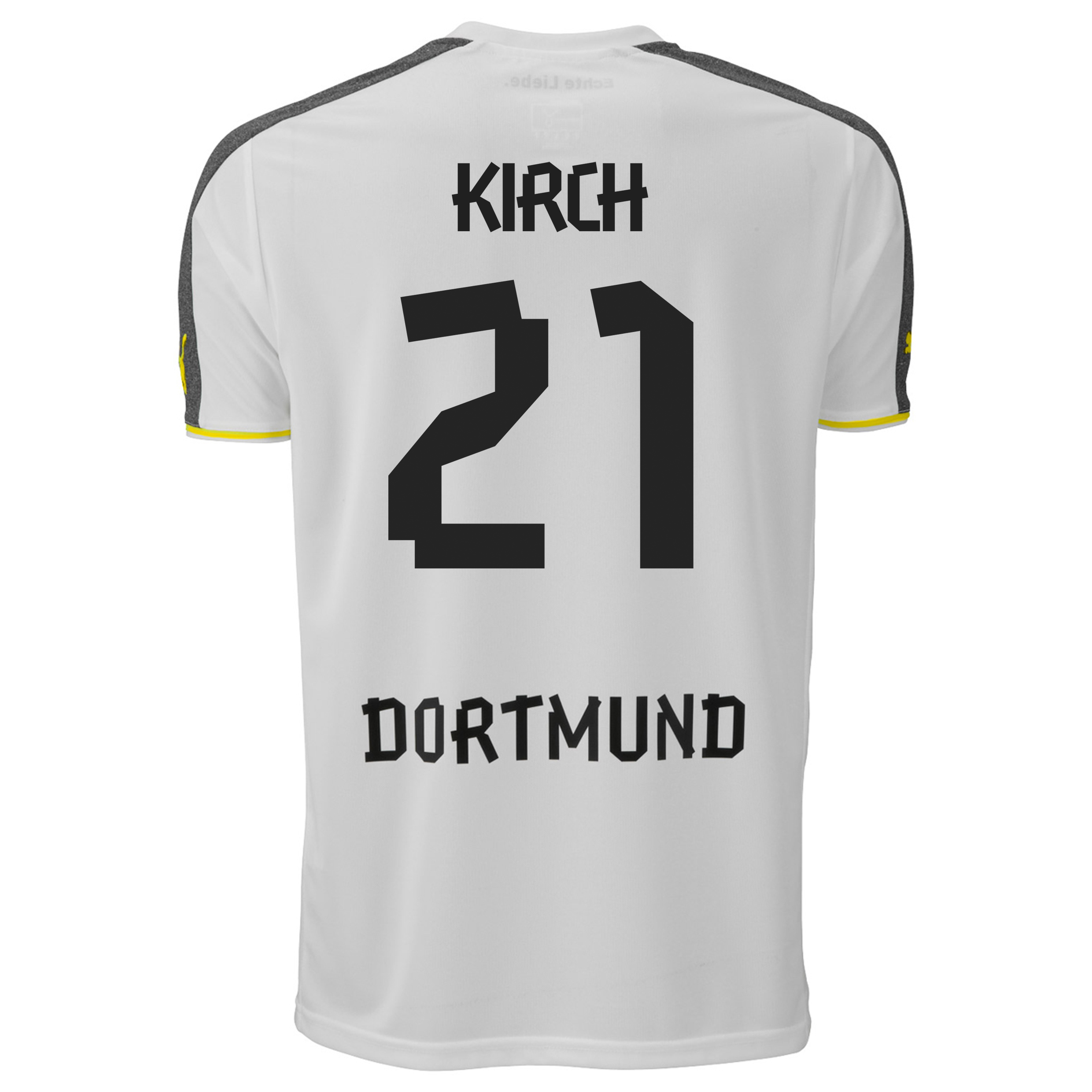 BVB Third Shirt 2013/14 with Kirch 21 printing