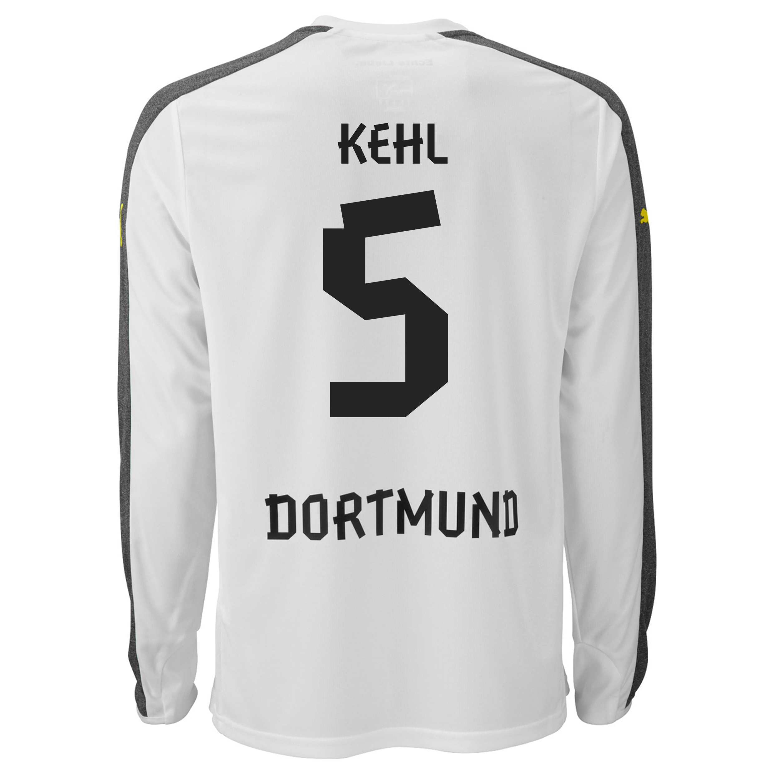 BVB Third Shirt 2013/14 - Long Sleeve with Kehl 5 printing