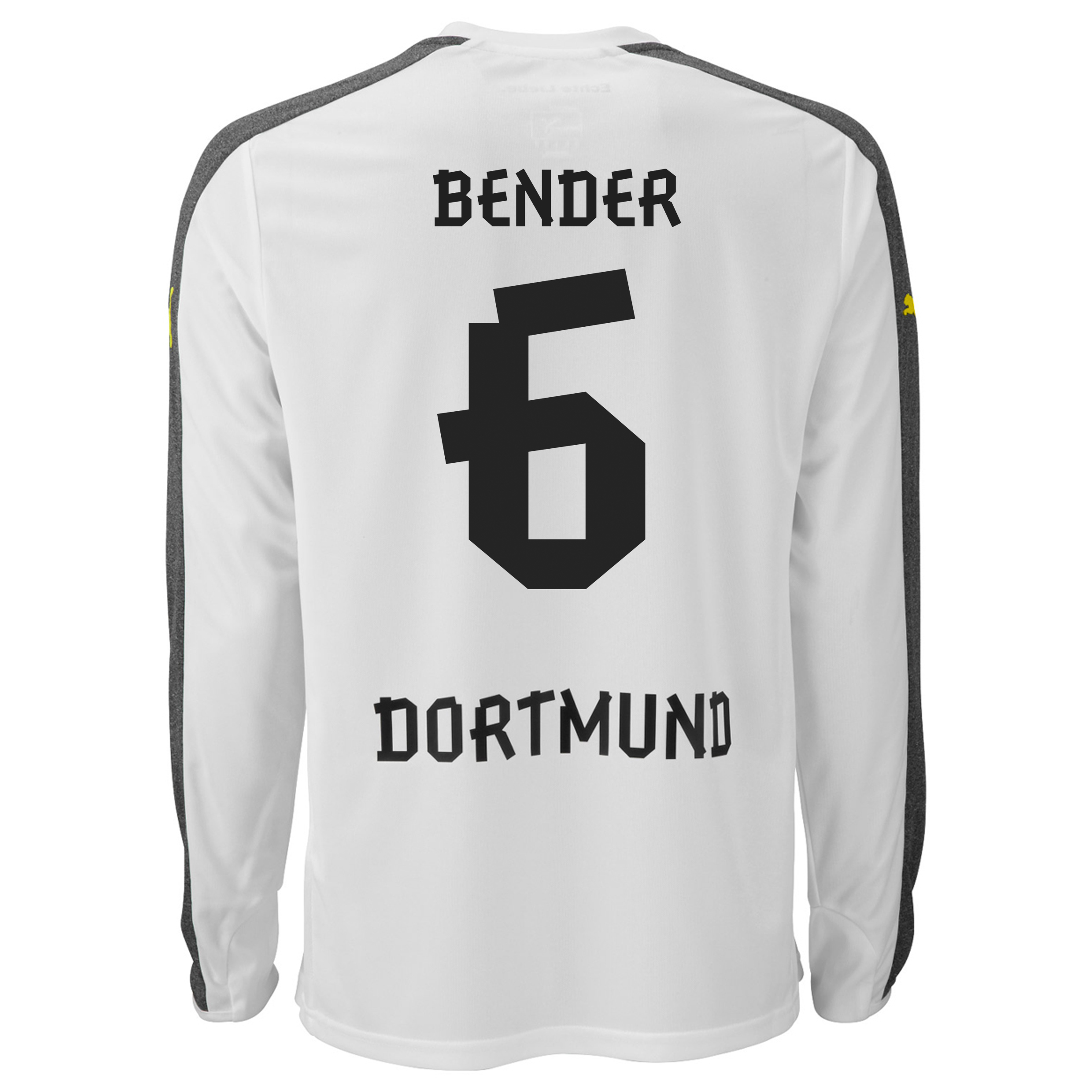 BVB Third Shirt 2013/14 - Long Sleeve with Bender 6 printing