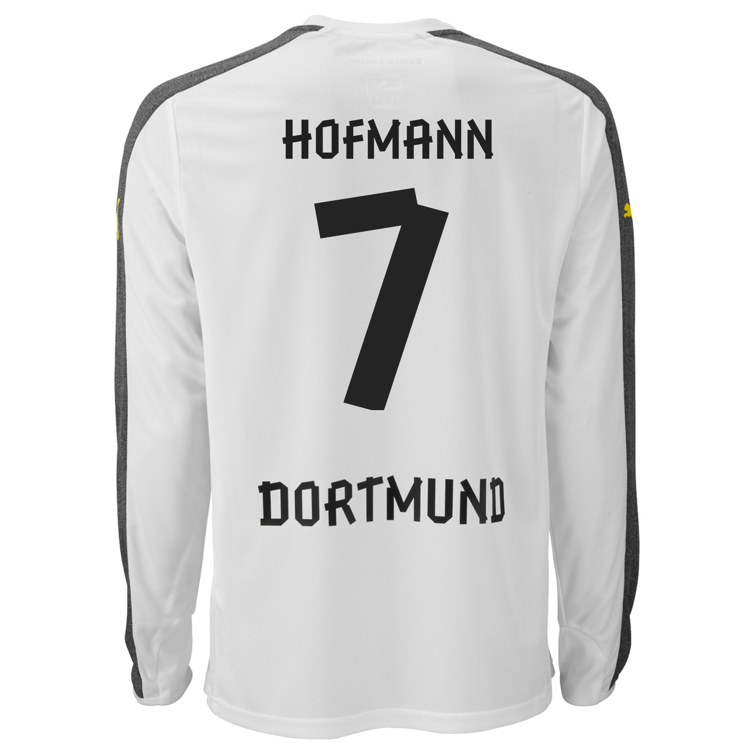 BVB Third Shirt 2013/14 - Long Sleeve with Hofmann 7 printing