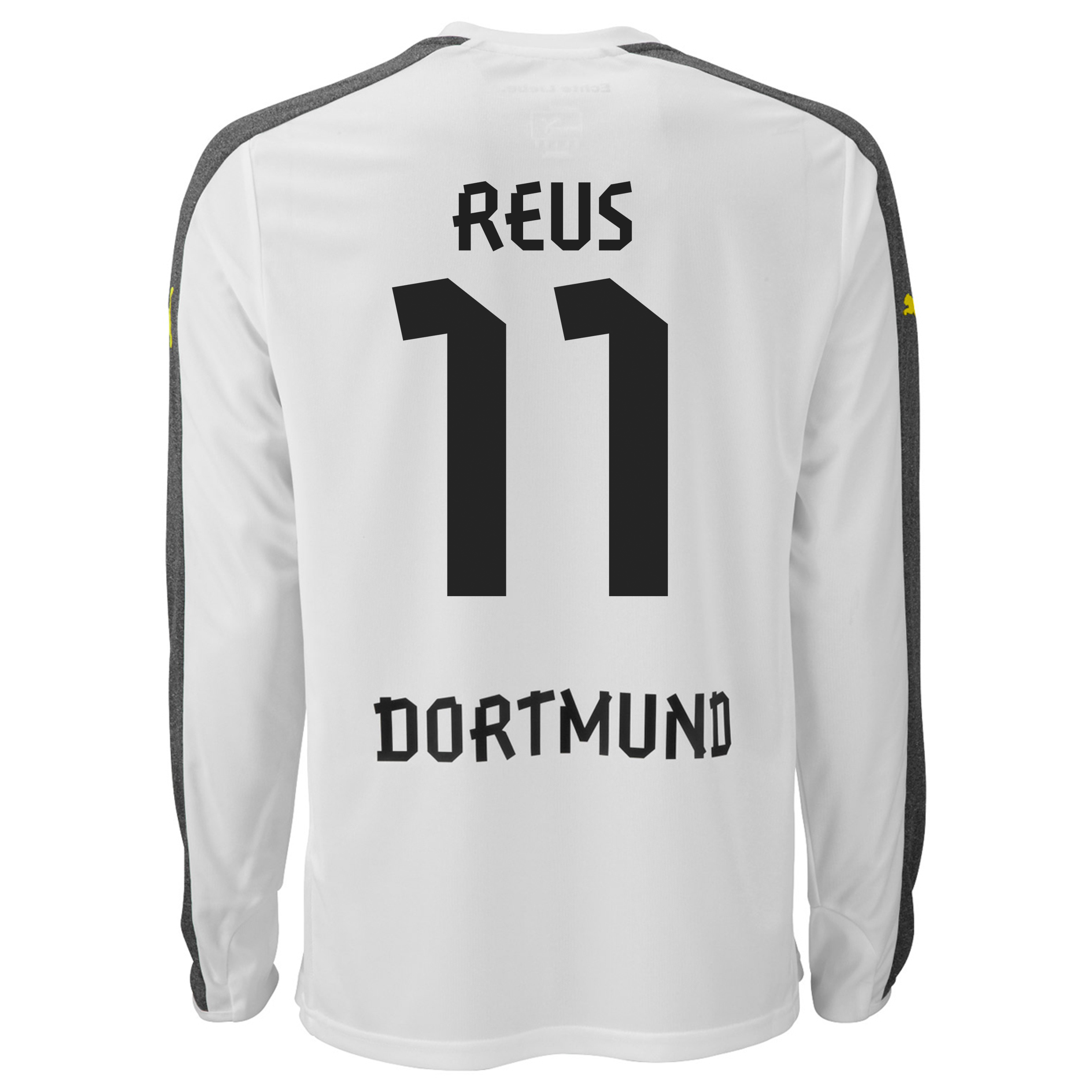 BVB Third Shirt 2013/14 - Long Sleeve with Reus 11 printing