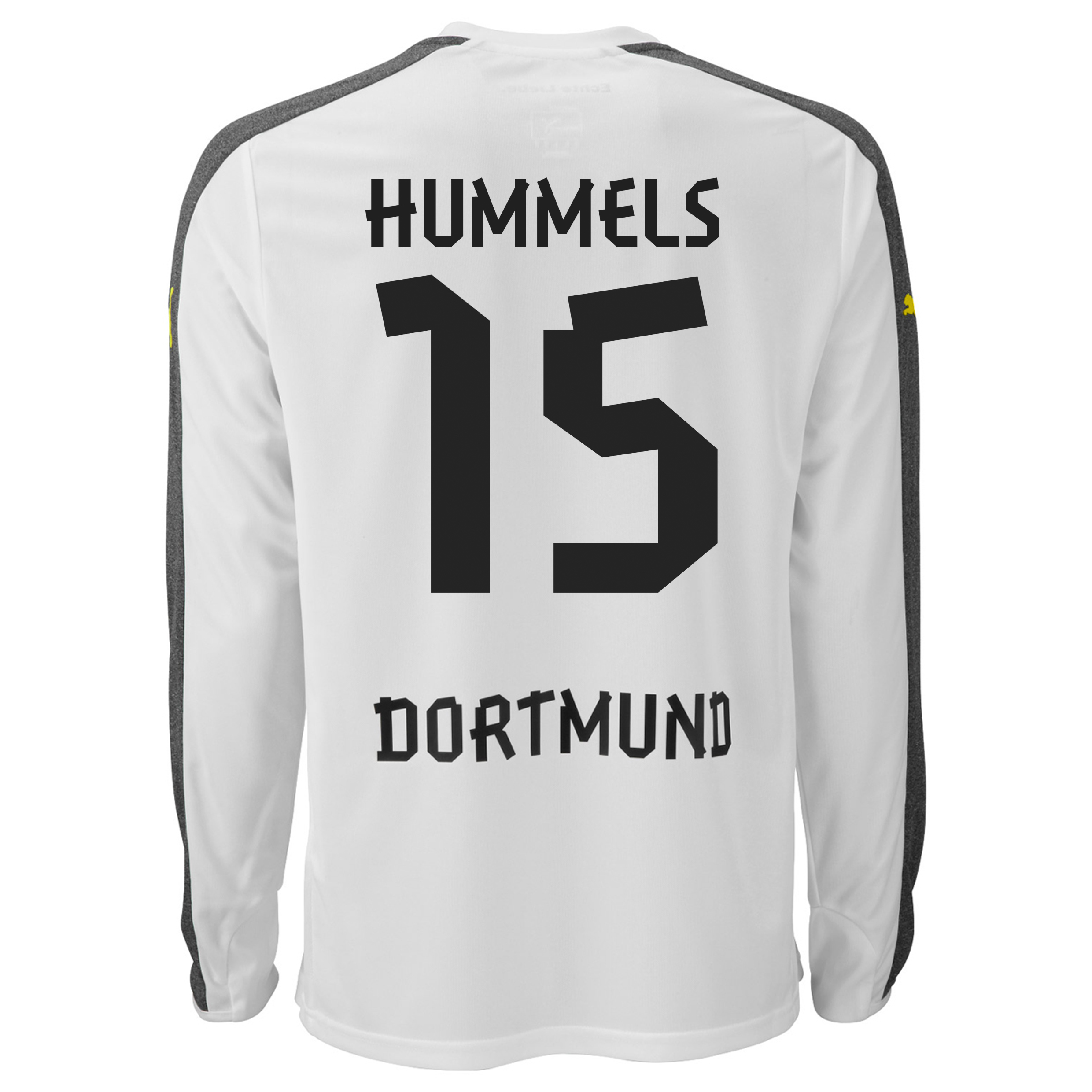 BVB Third Shirt 2013/14 - Long Sleeve with Hummels 15 printing