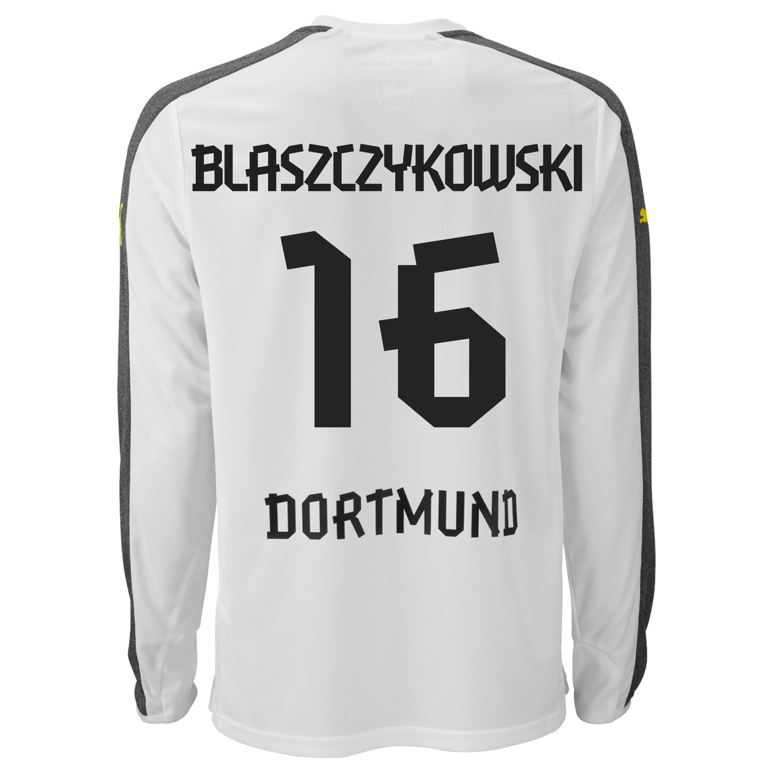 BVB Third Shirt 2013/14 - Long Sleeve with Blaszczykowski 16 printing