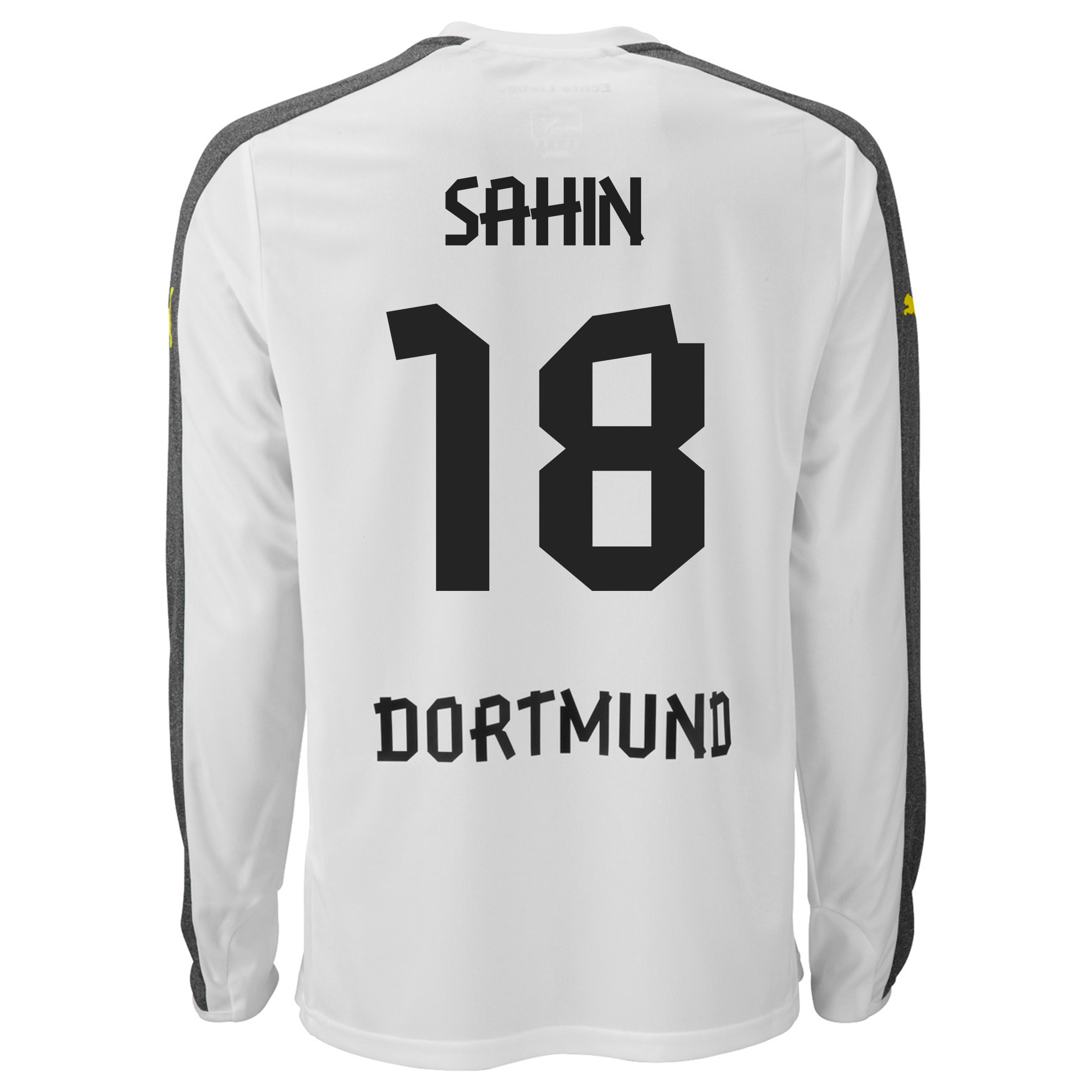 BVB Third Shirt 2013/14 - Long Sleeve with Sahin 18 printing