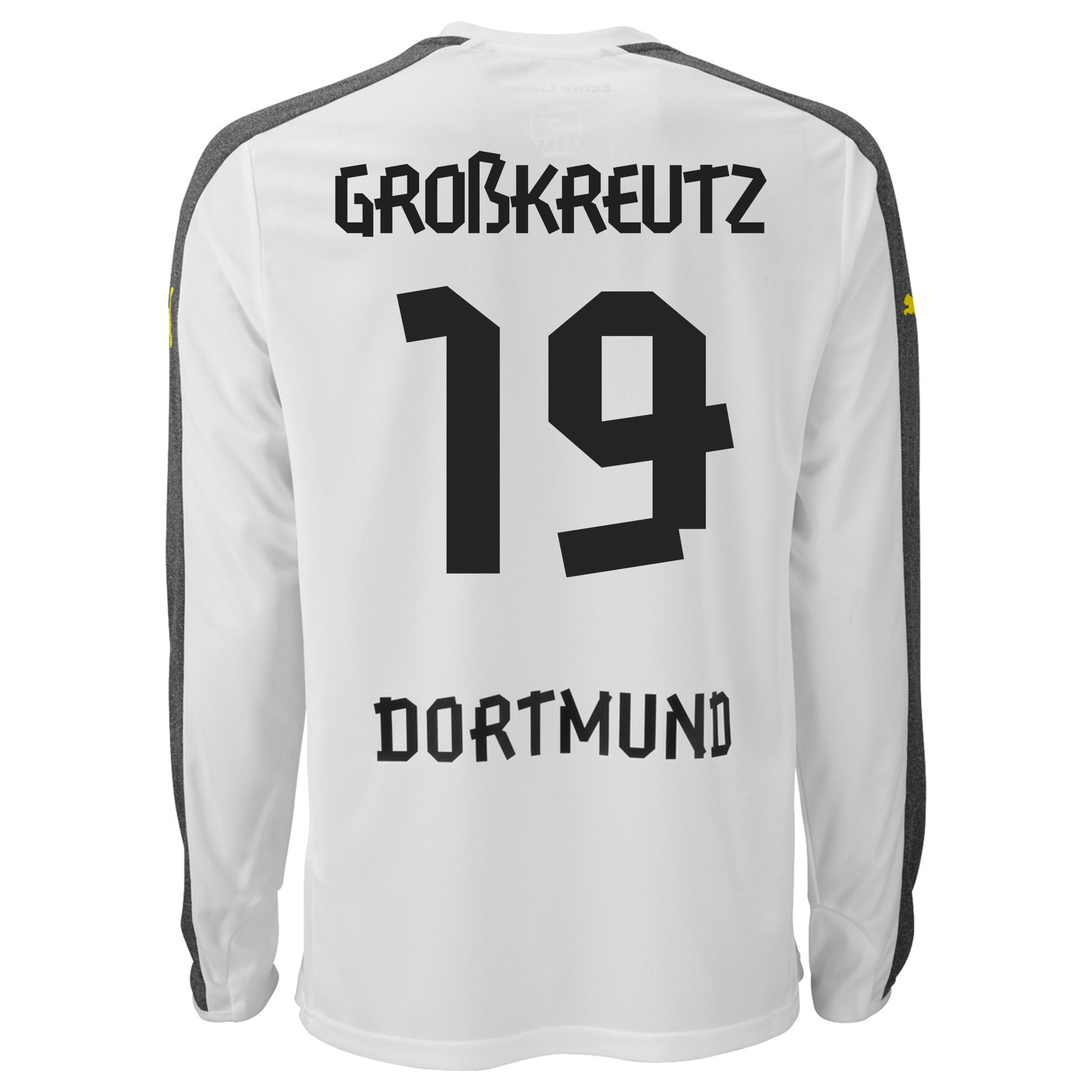 BVB Third Shirt 2013/14 - Long Sleeve with Grosskreutz 19 printing