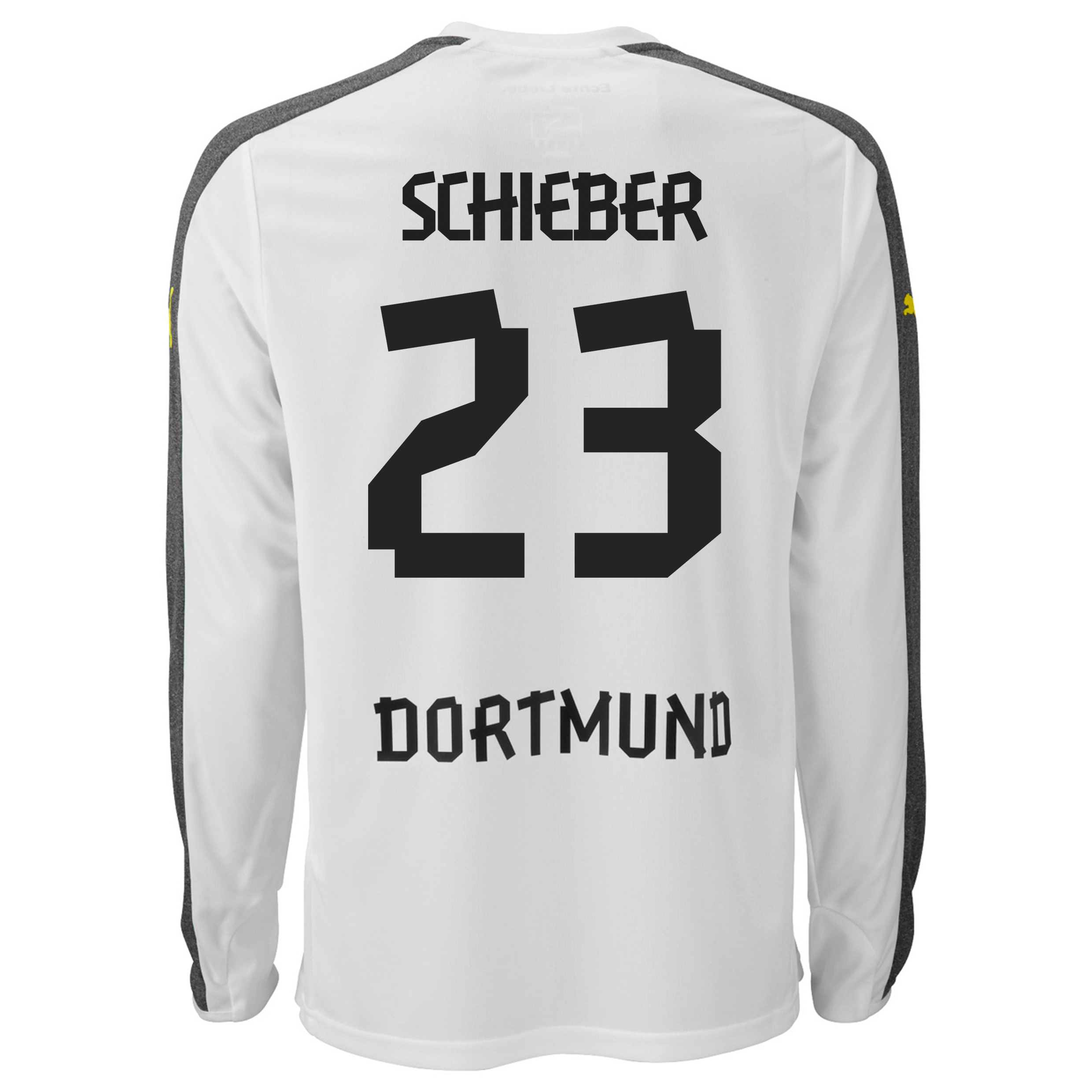 BVB Third Shirt 2013/14 - Long Sleeve with Schieber 23 printing