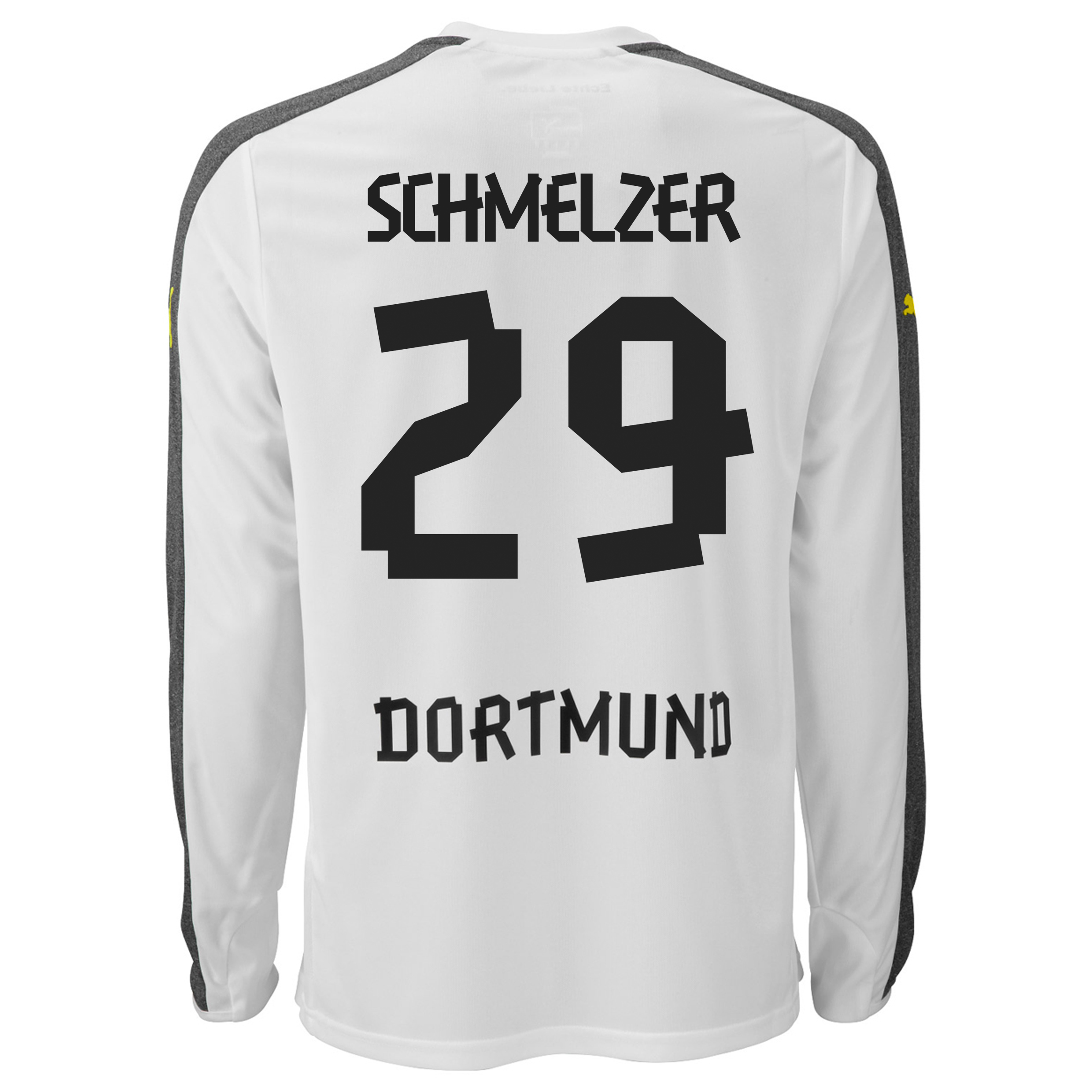 BVB Third Shirt 2013/14 - Long Sleeve with Schmelzer 29 printing