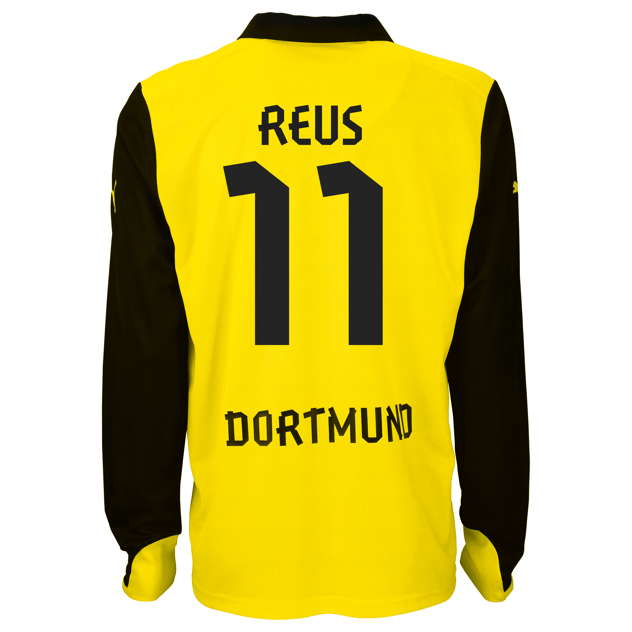 BVB International Home Shirt 2013/14 - Long Sleeve with Reus 11 printing