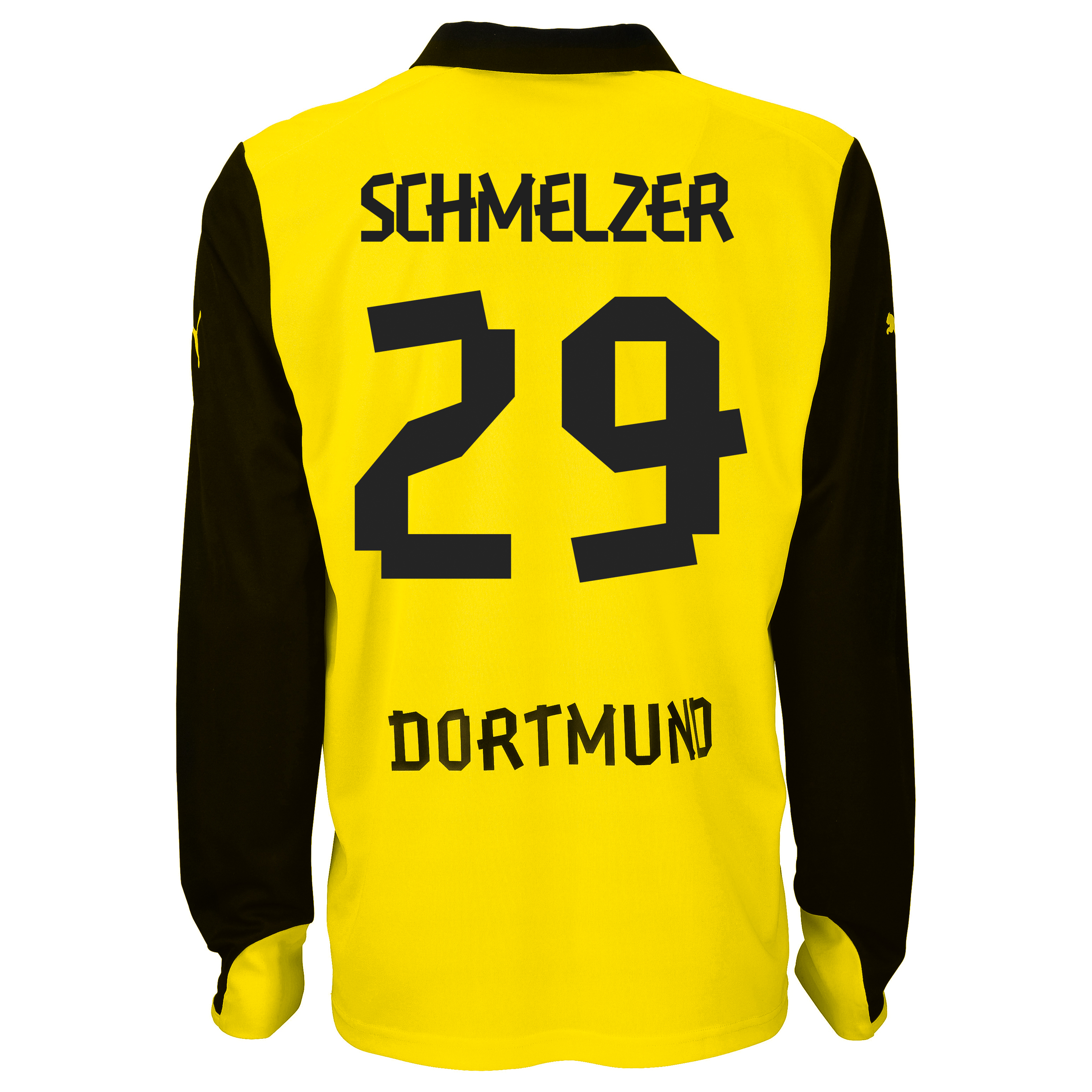 BVB International Home Shirt 2013/14 - Long Sleeve with Schmelzer 29 printing