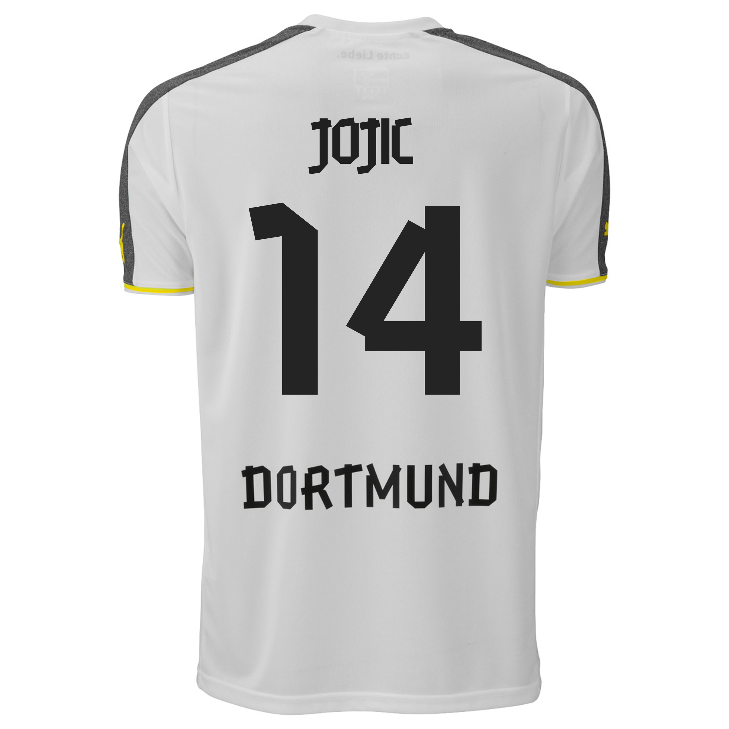 BVB Third Shirt 2013/15 with Jojic 14 printing
