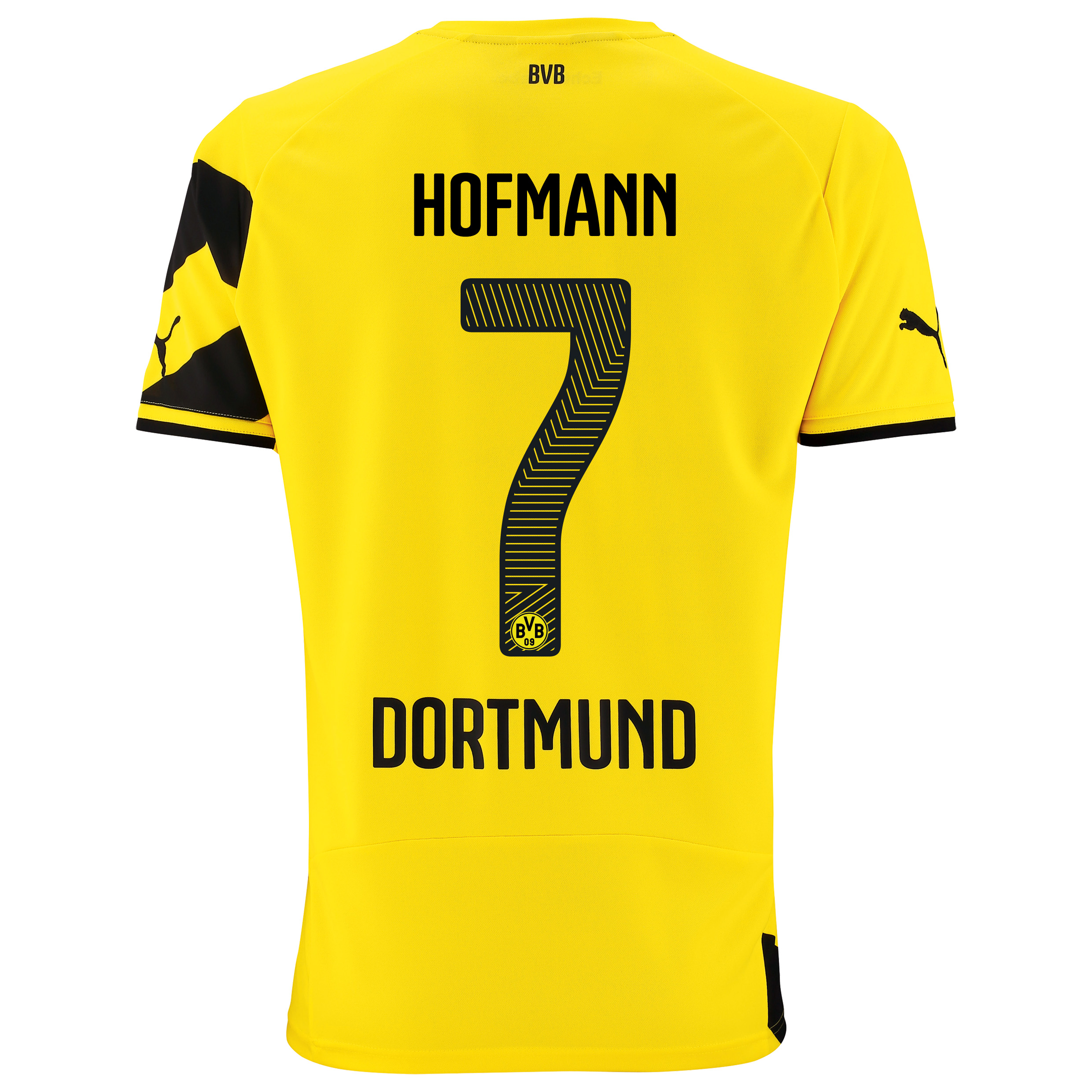 BVB Home Shirt 2014/15 - Kids Yellow with Hofmann 7 printing