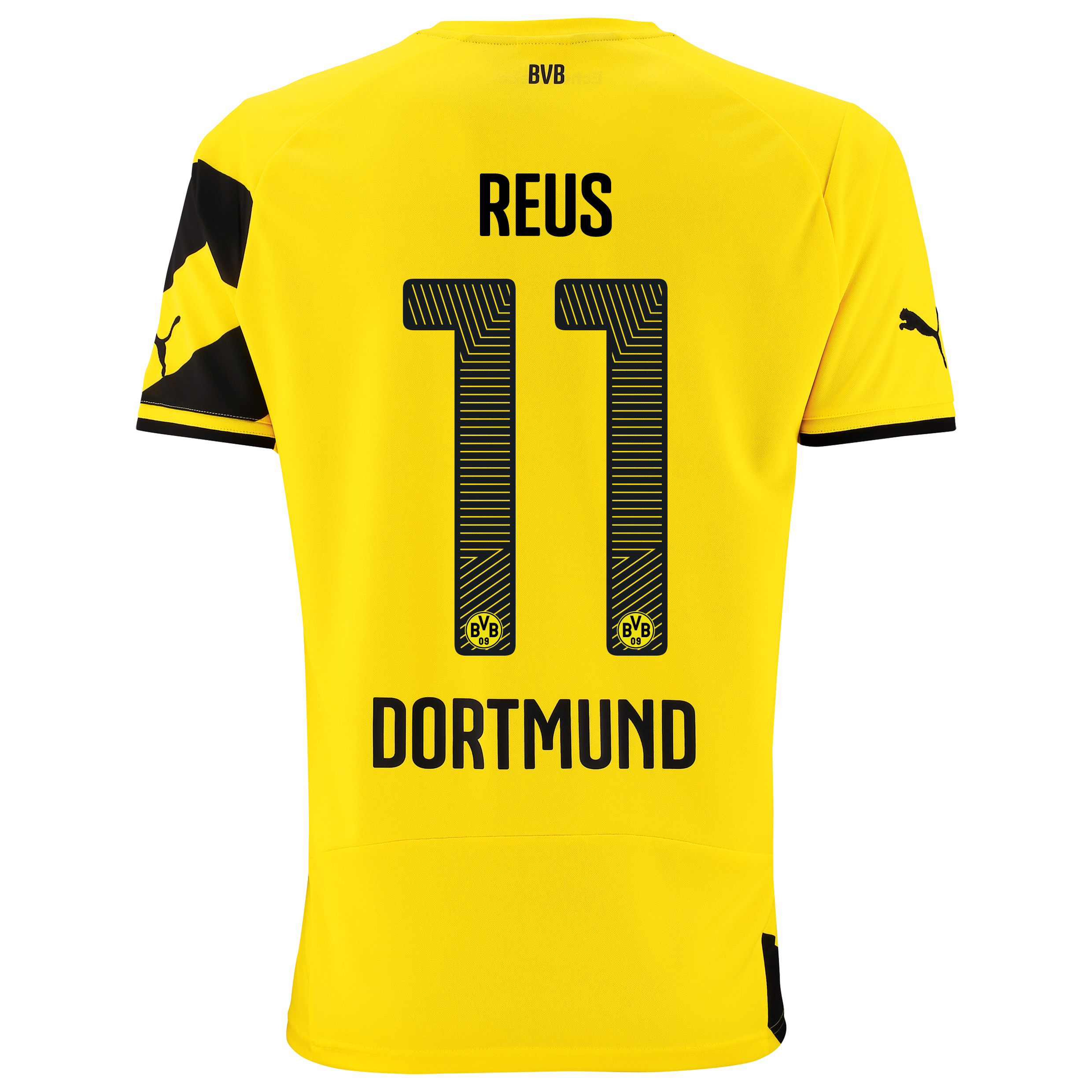 BVB Home Shirt 2014/15 - Kids Yellow with Reus 11 printing