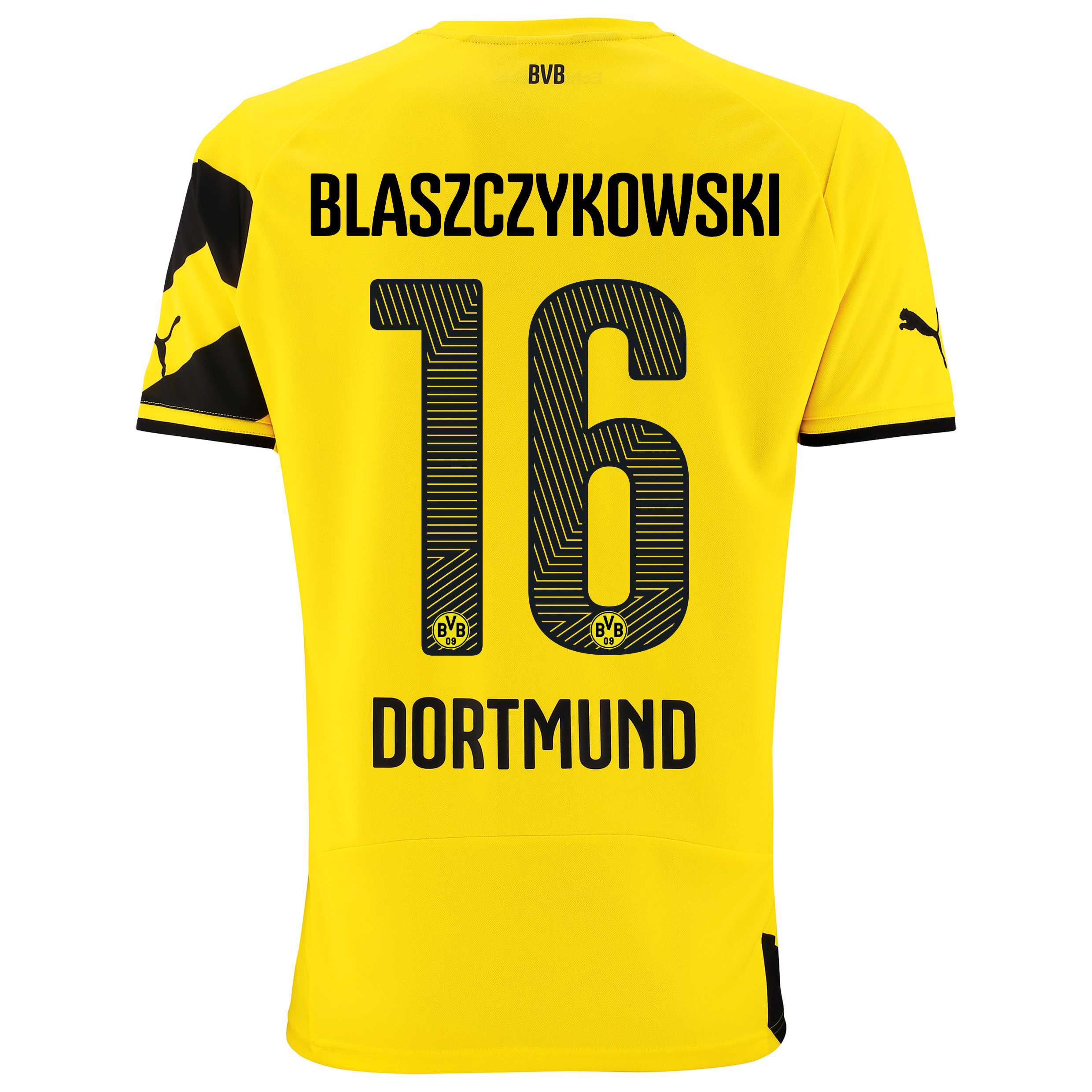 BVB Home Shirt 2014/15 - Kids Yellow with Blaszczykowski 16 printing
