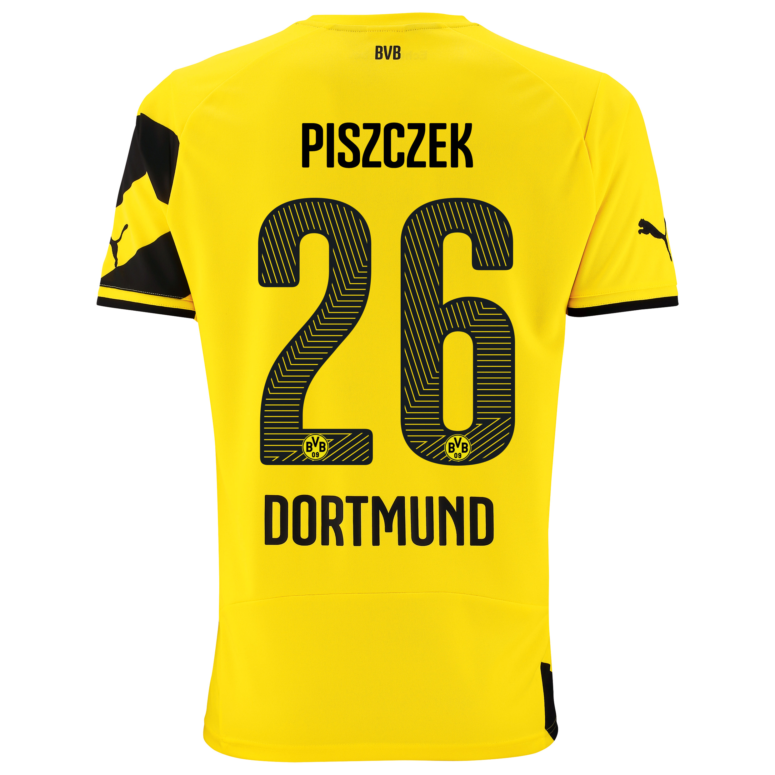 BVB Home Shirt 2014/15 - Kids Yellow with Piszczek 26 printing