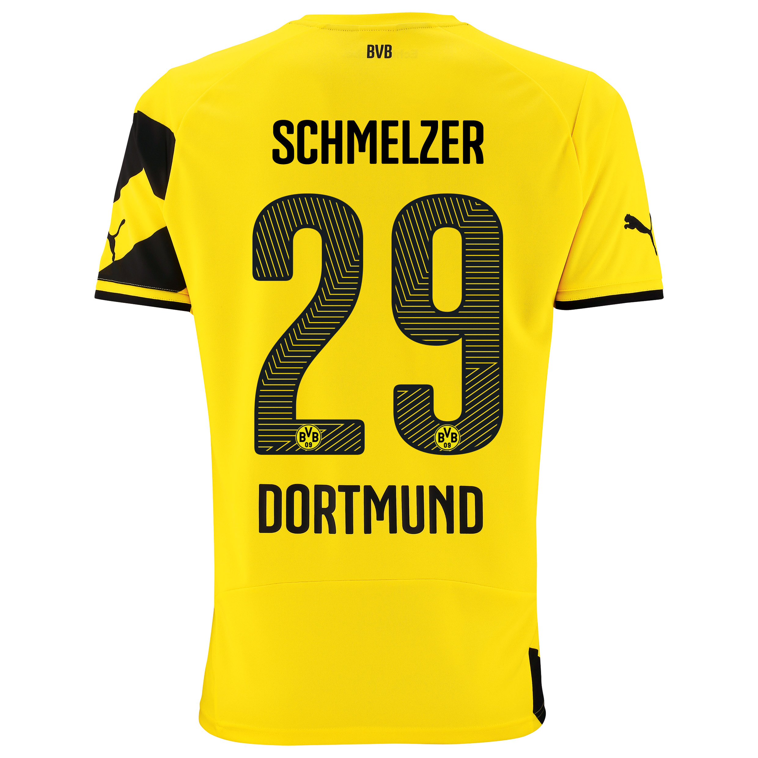 BVB Home Shirt 2014/15 - Kids Yellow with Schmelzer 29 printing