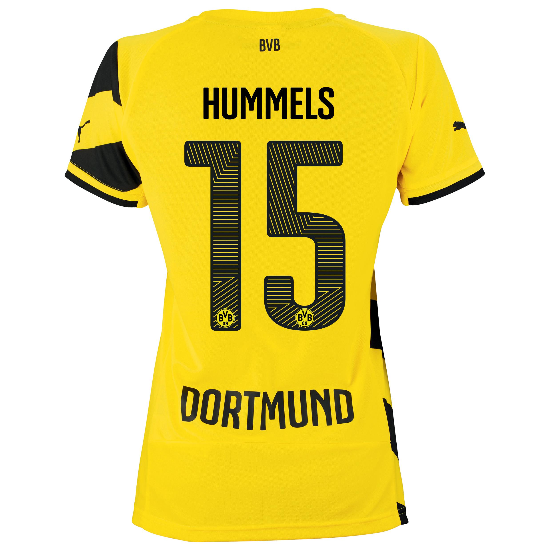 BVB Home Shirt 2014/15 - Womens Yellow with Hummels 15 printing