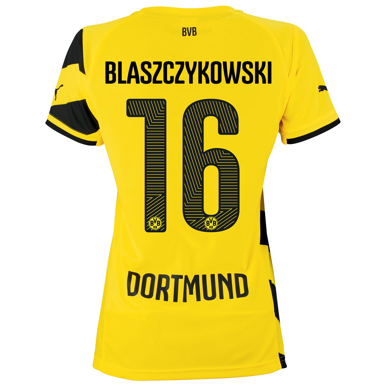 BVB Home Shirt 2014/15 - Womens Yellow with Blaszczykowski 16 printing