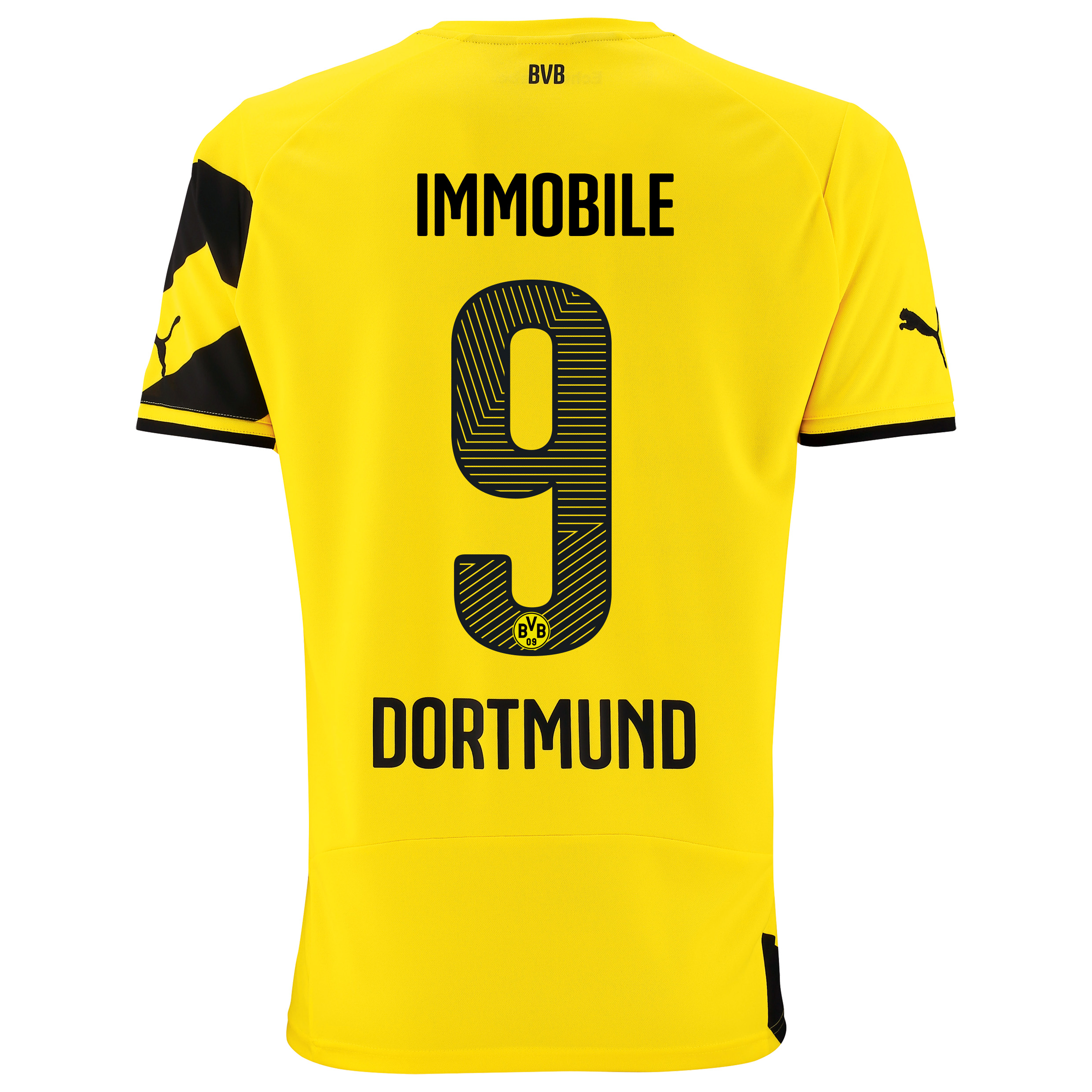 BVB Home Shirt 2014/15 with Ciro Immobile 9 printing