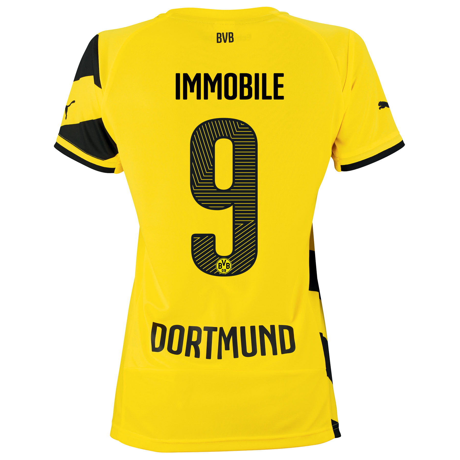 BVB Home Shirt 2014/15 - Womens with Ciro Immobile 9 printing