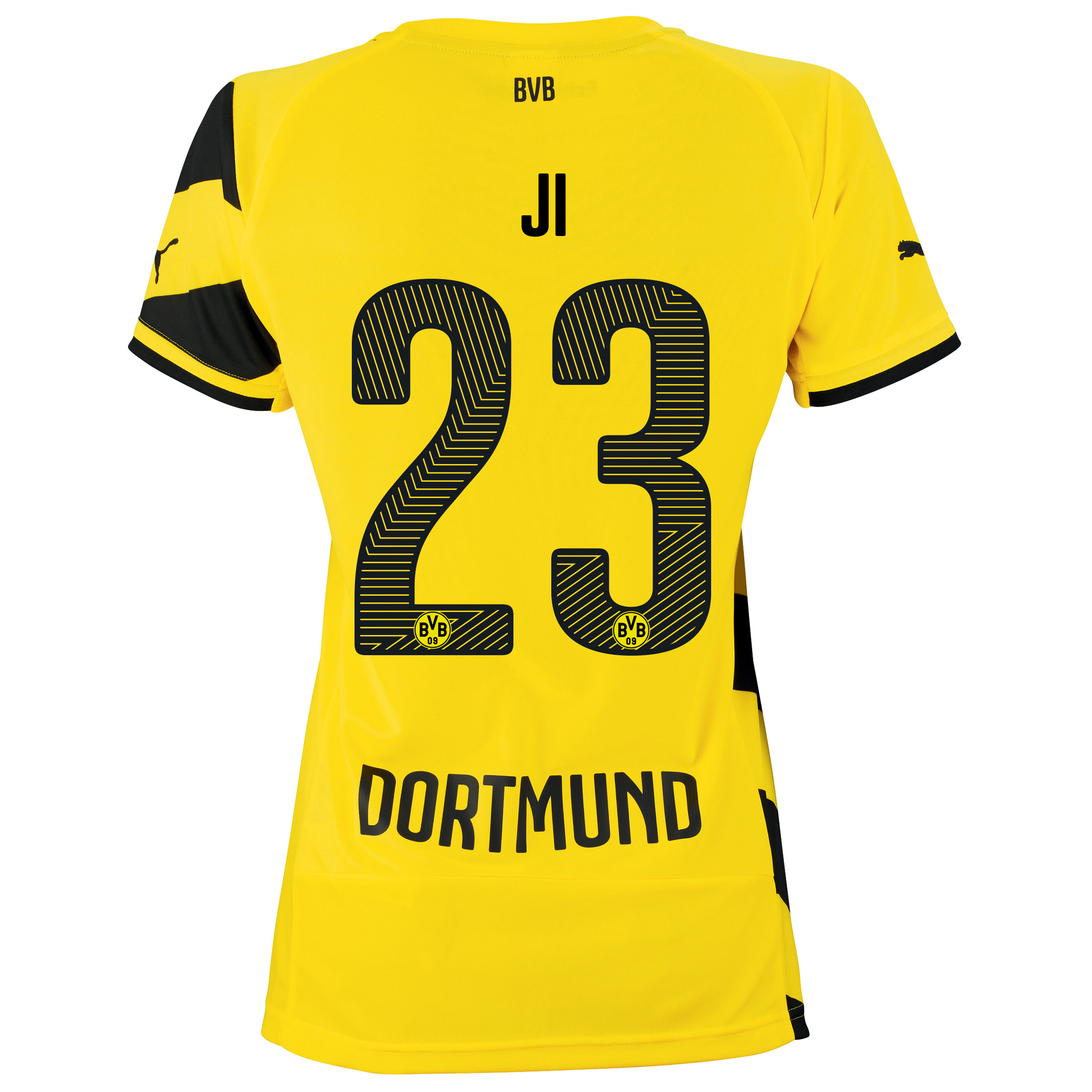 BVB Home Shirt 2014/15 - Womens with Dong-Won Ji 23 printing