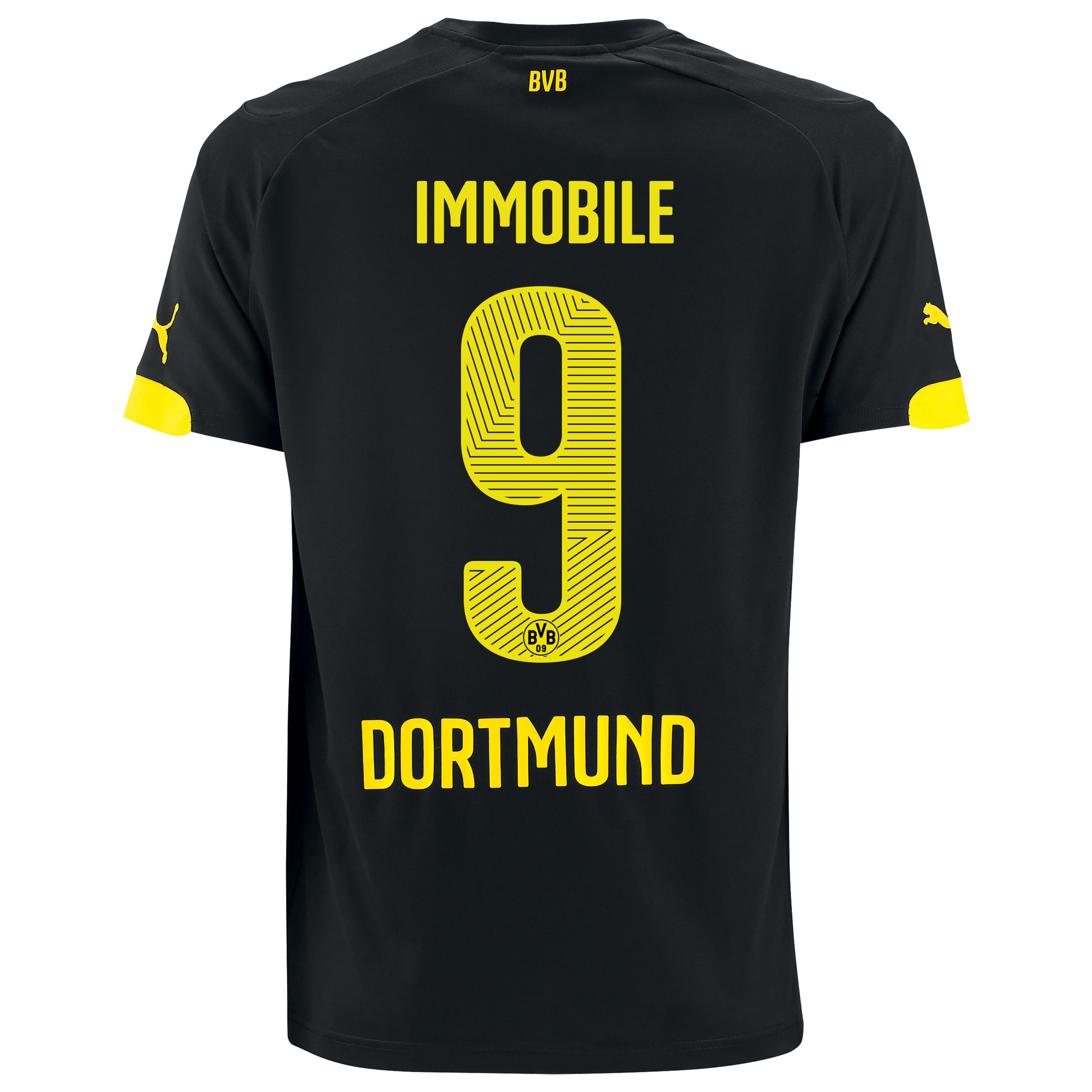 BVB Away Shirt 2014/15 with Ciro Immobile 9 printing