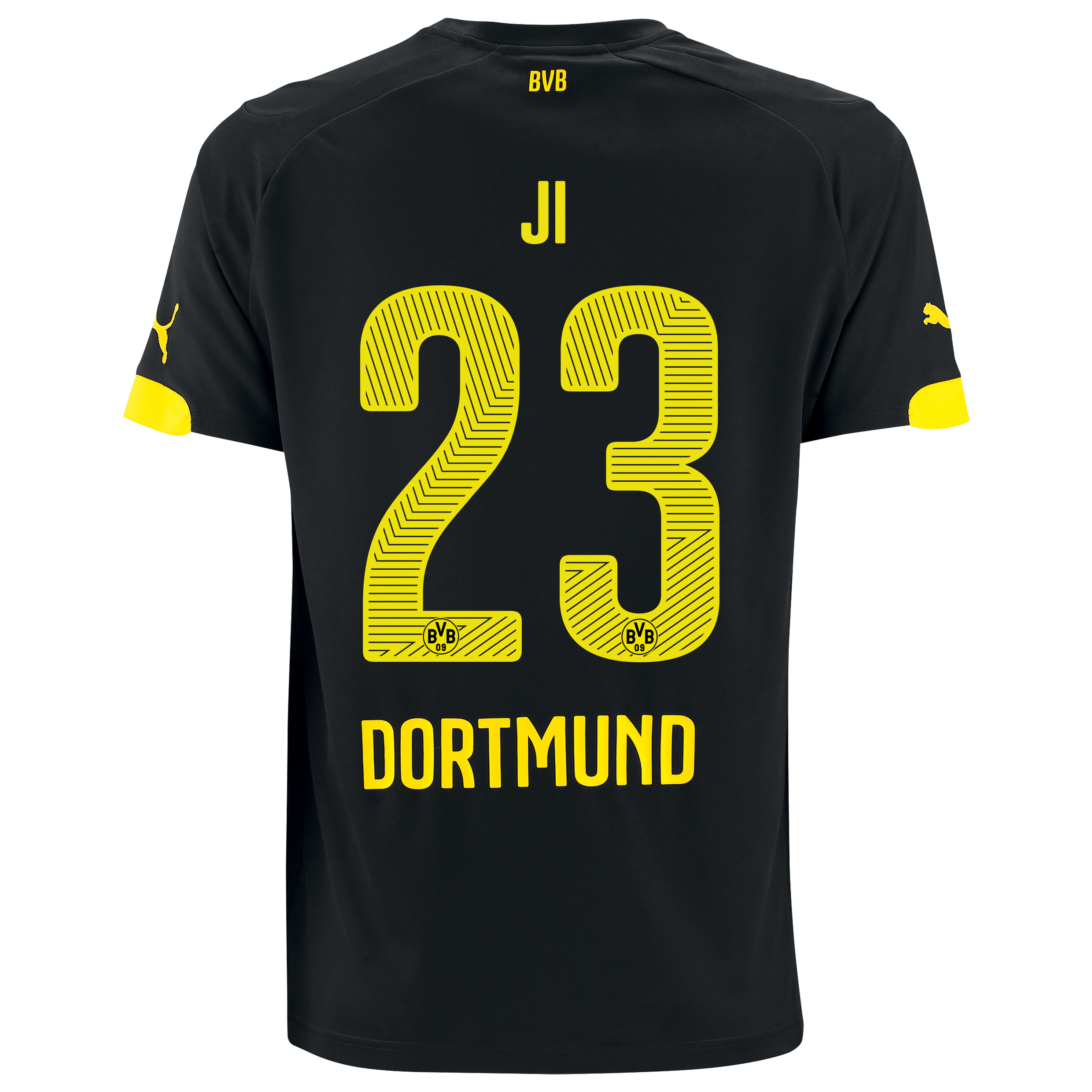 BVB Away Shirt 2014/15 with Dong-Won Ji 23 printing