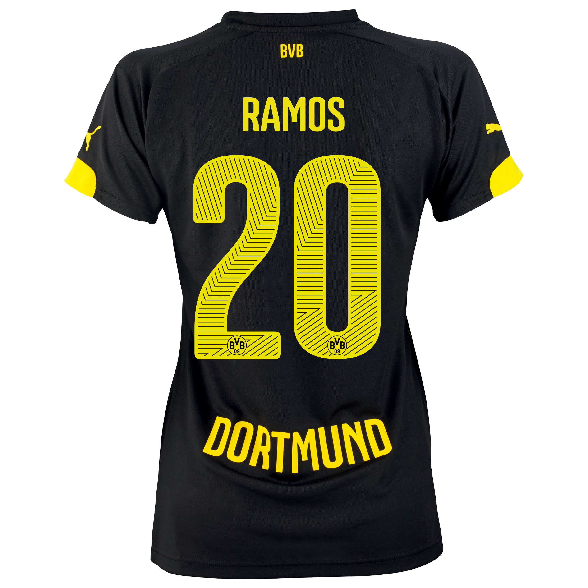 BVB Away Shirt 2014/15 - Womens with Adrian Ramos 20 printing