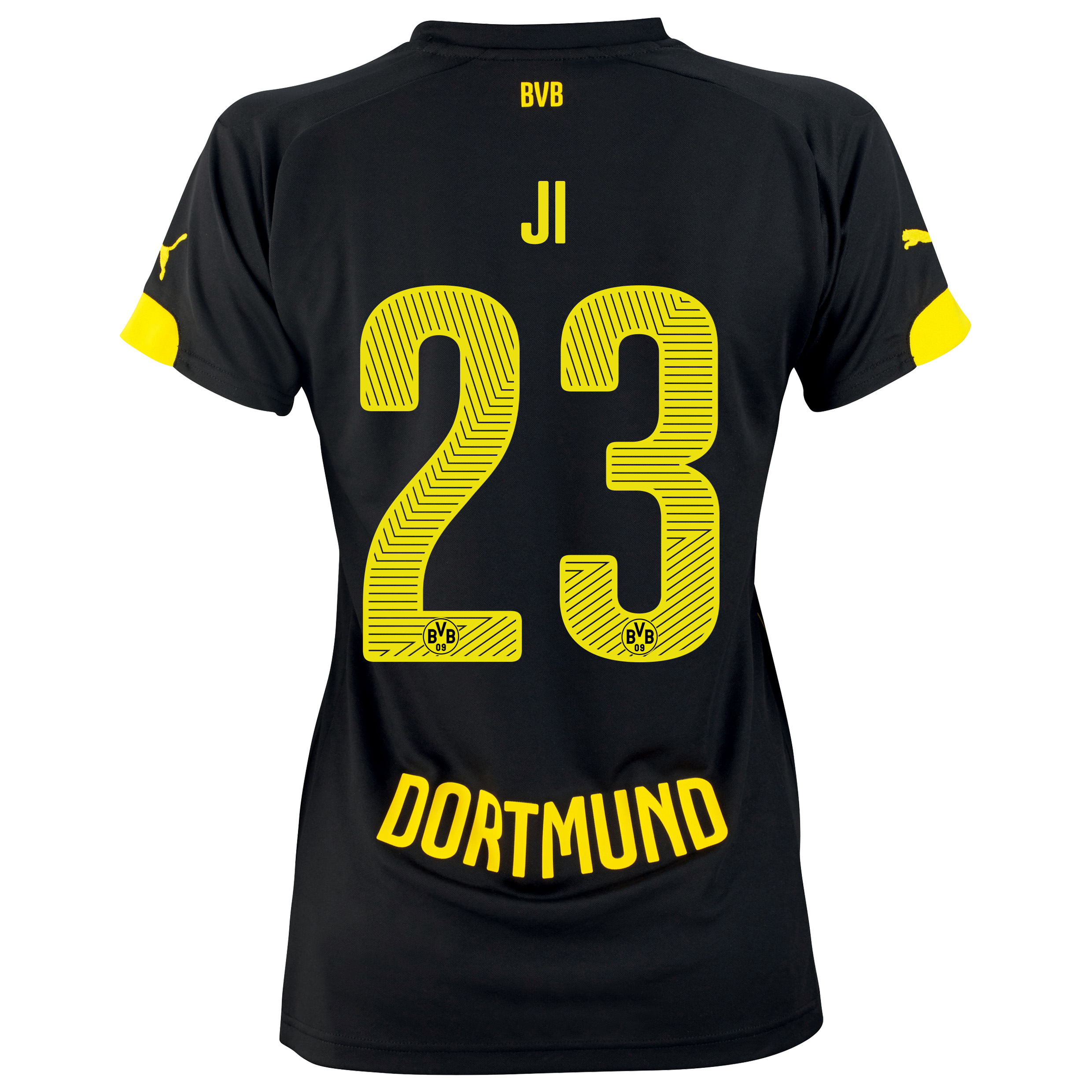 BVB Away Shirt 2014/15 - Womens with Dong-Won Ji 23 printing
