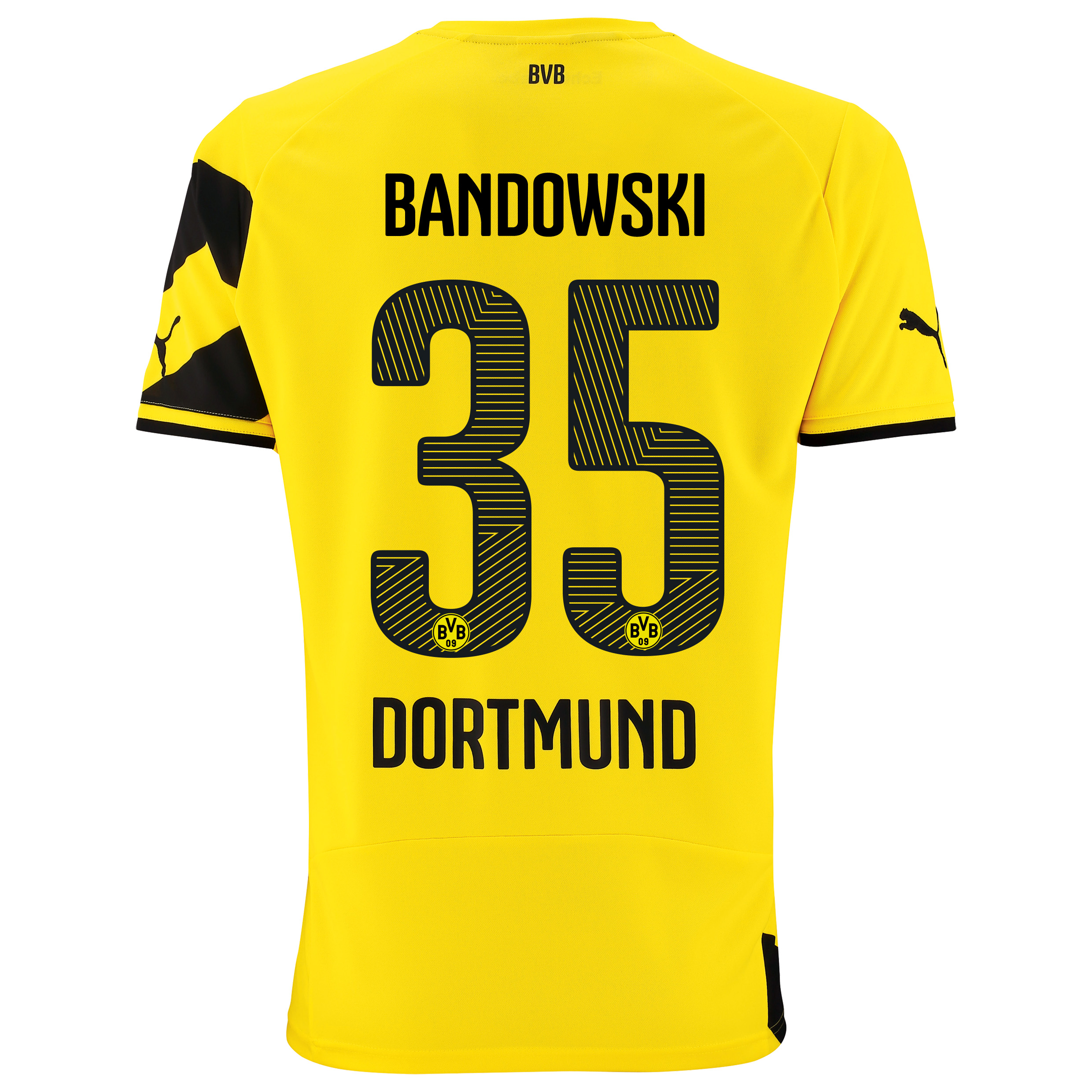 BVB Home Shirt 2014/15 with Bandowski 35 printing
