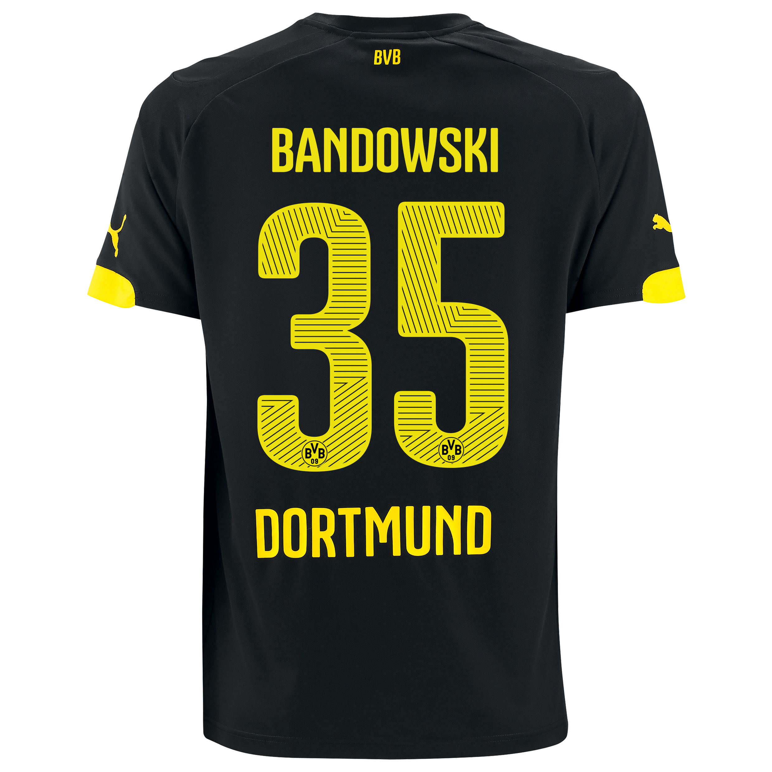 BVB Away Shirt 2014/15 with Bandowski 35 printing