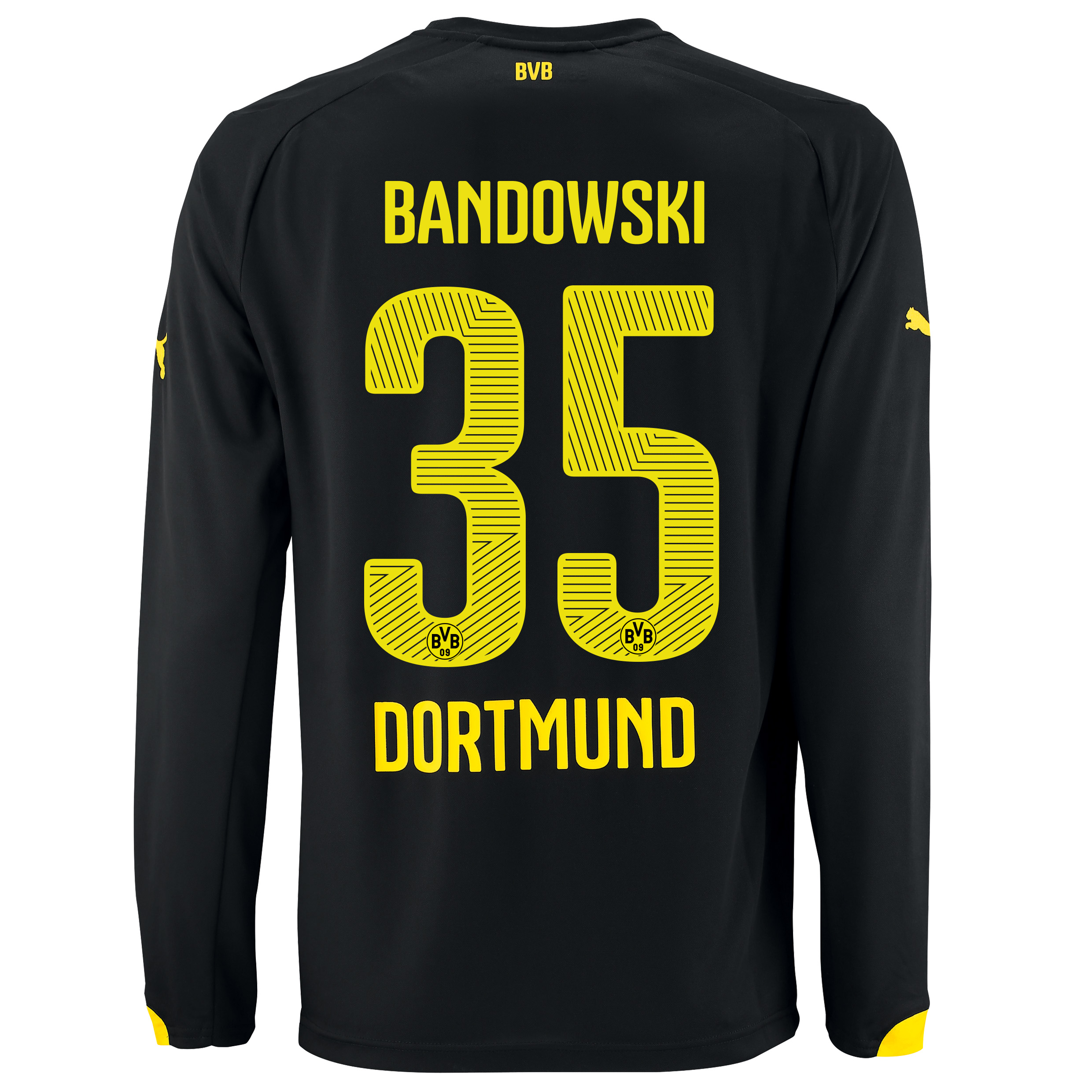 BVB Away Shirt 2014/15 - Long Sleeve with Bandowski 35 printing