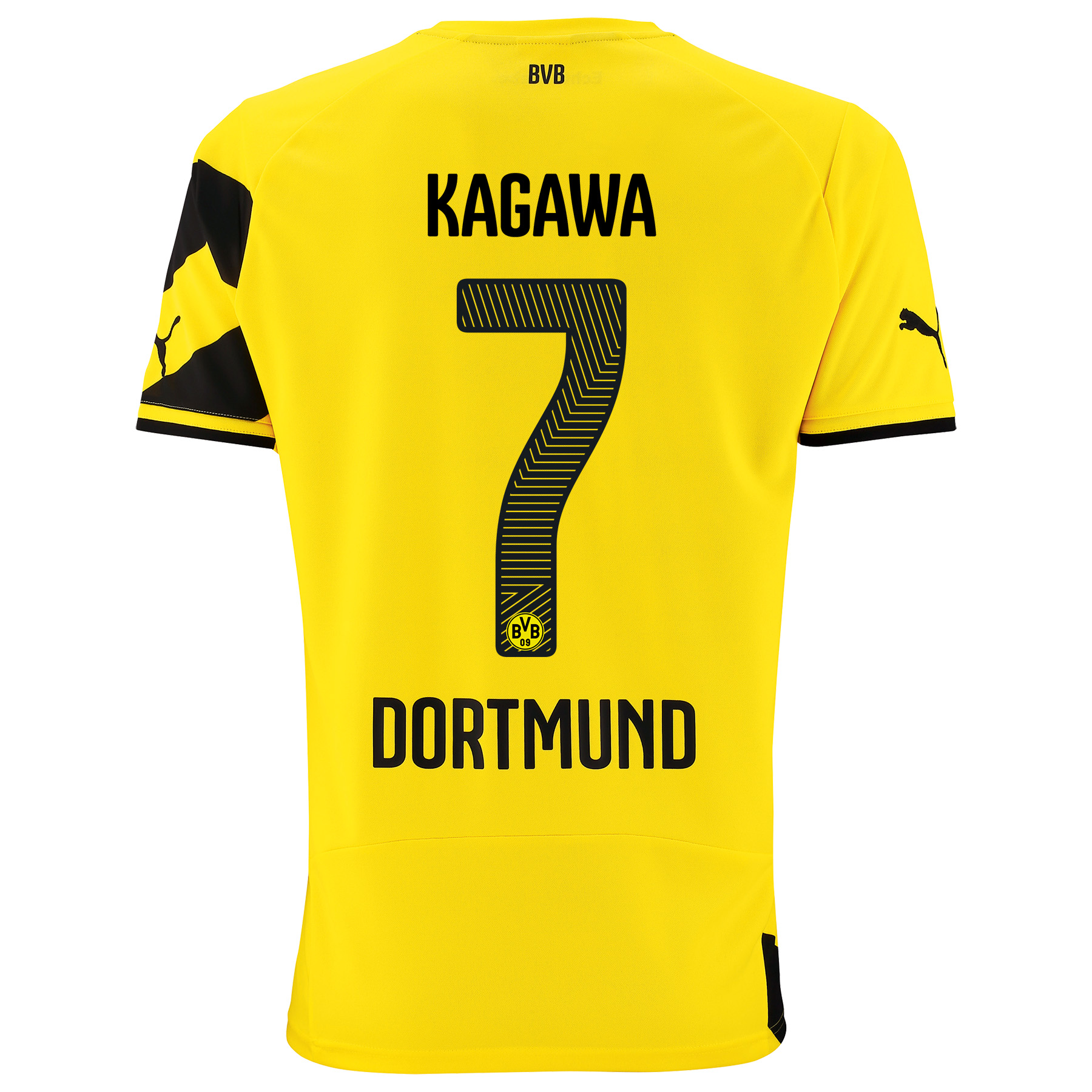 BVB Home Shirt 2014/15 with Kagawa 7 printing