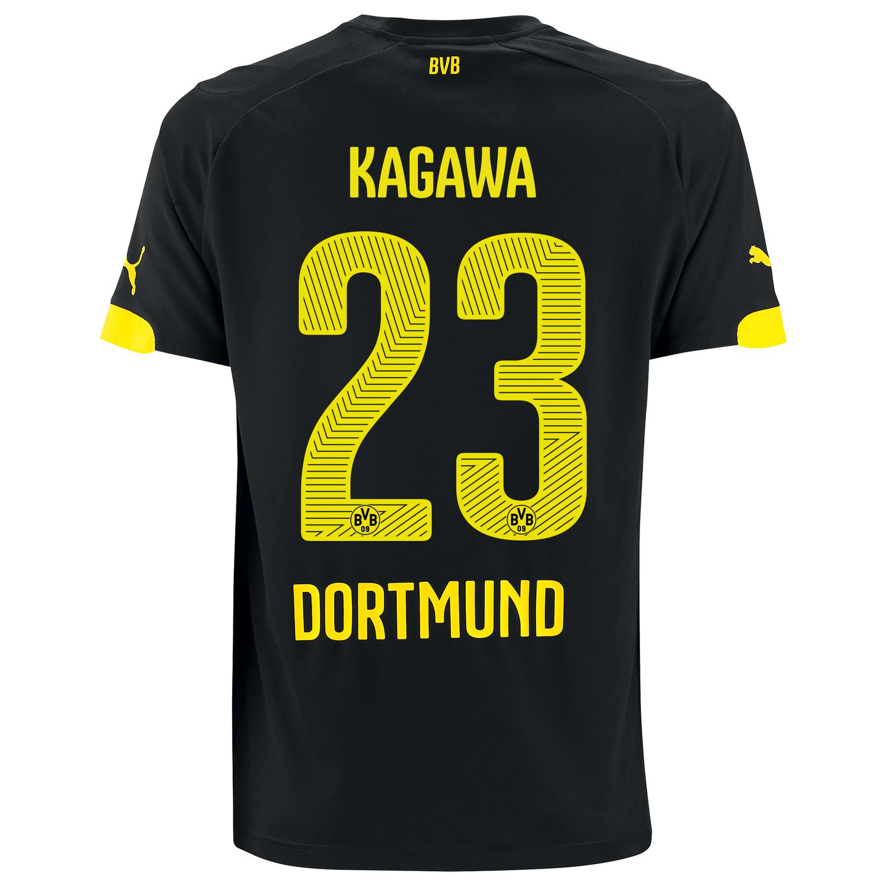 BVB Away Shirt 2014/15 - Kids with Kagawa 7 printing