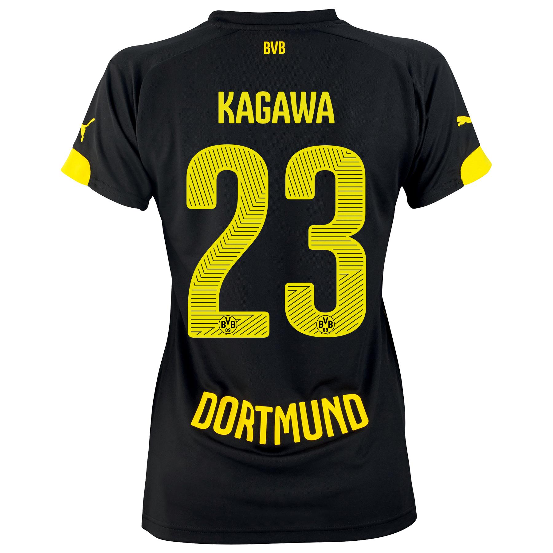 BVB Away Shirt 2014/15 - Womens with Kagawa 7 printing