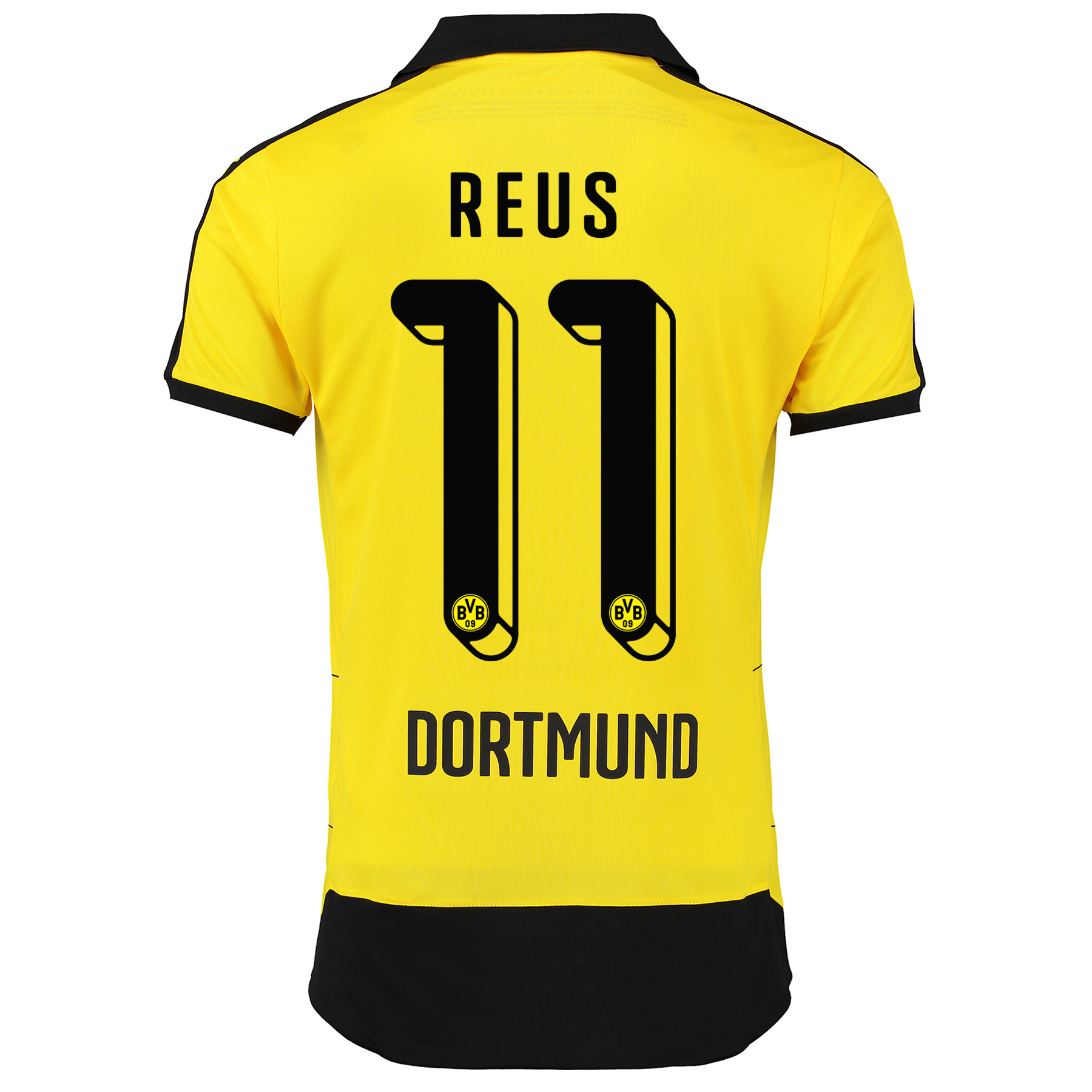 BVB Home Shirt 2015/16 – Kids Yellow with Reus 11 printing