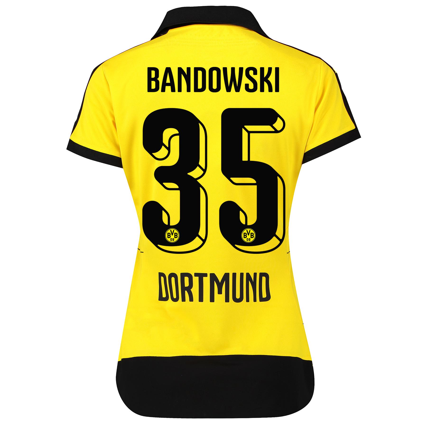 BVB Home Shirt 2015/16 – Womens with Sponsor Yellow with Bandowski 35