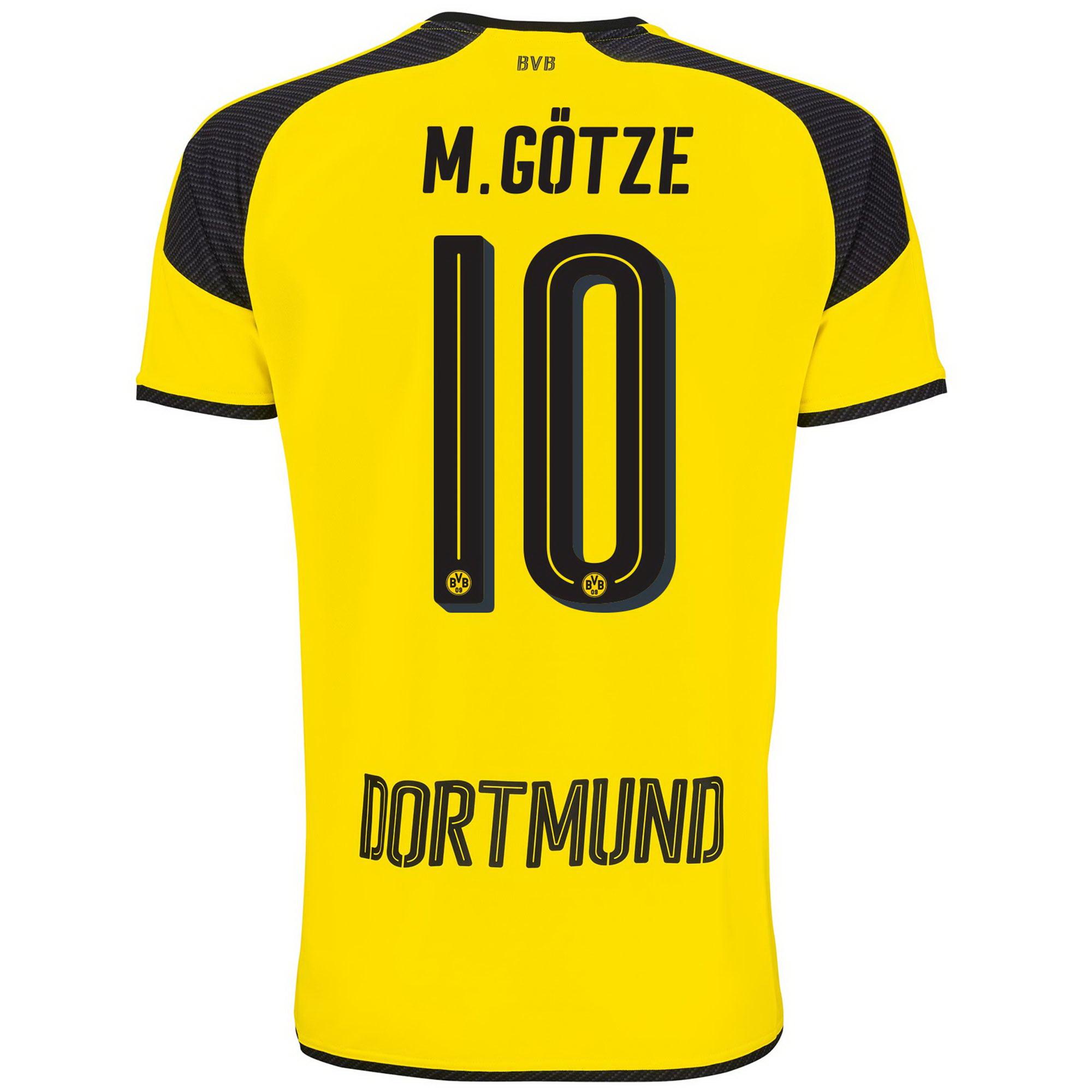 Image of BVB International Home Shirt 2016-17 - Outsize with M. Götze 10 printi, N/A