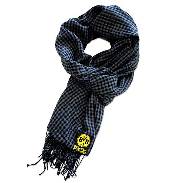 BVB Exclusive Small Square Check Scarf