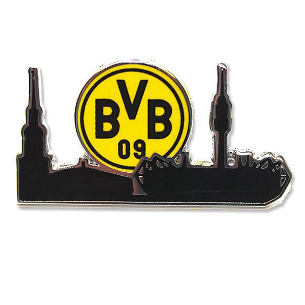 BVB Skyline Pin Badge