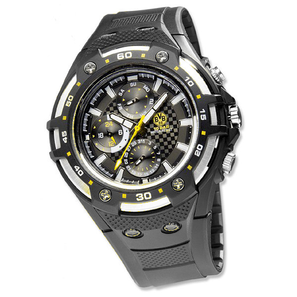 BVB Black Quartz Watch